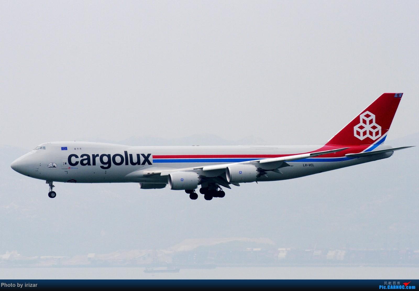 Re:[原创]第一次去HKG遇上烂天 BOEING 747-800 F LX-VCL 中国香港赤鱲角国际机场
