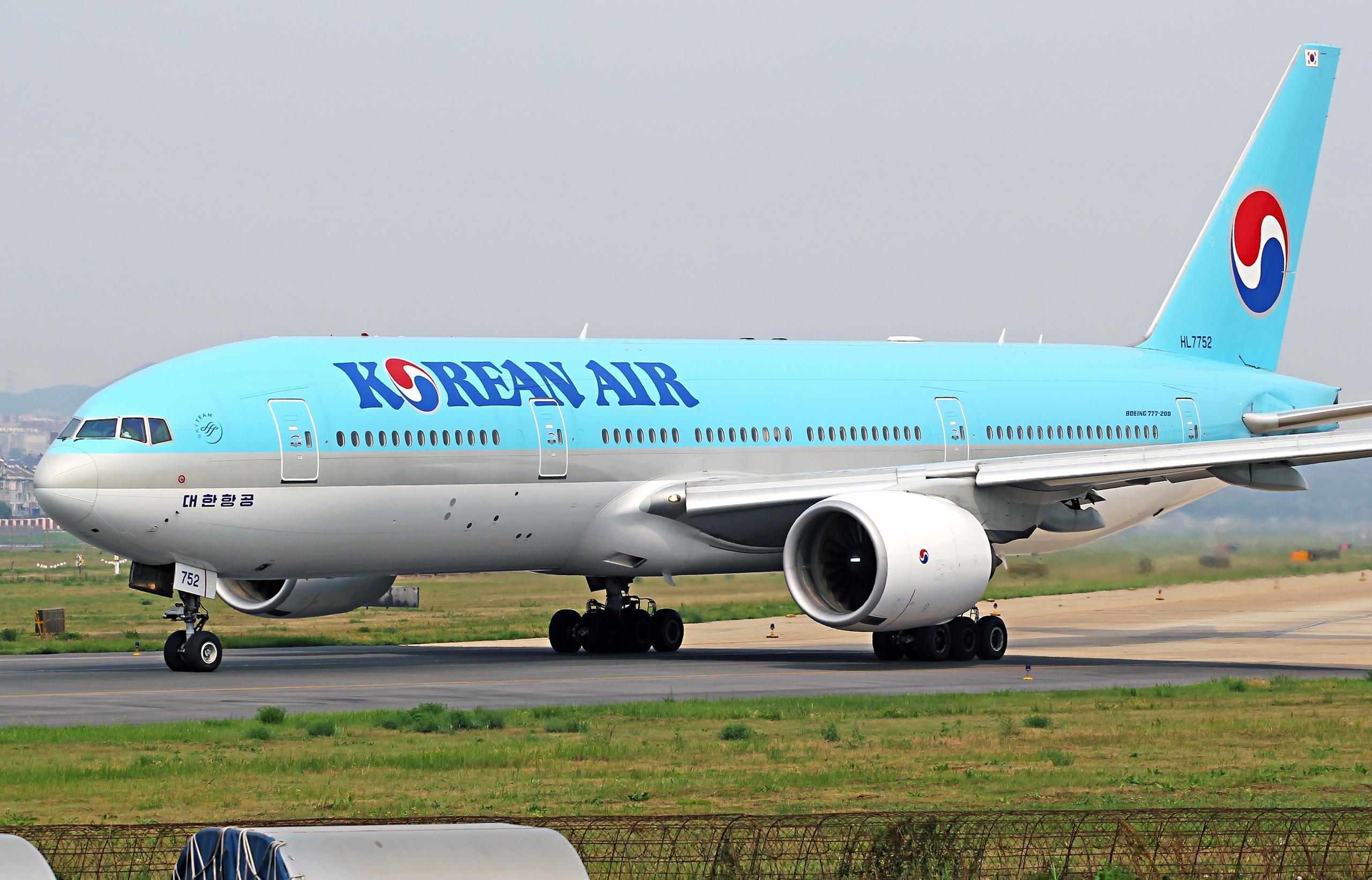 Re:[原创][DLC]2560x1707Pix BOEING 777-200 HL7752 中国大连周水子国际机场