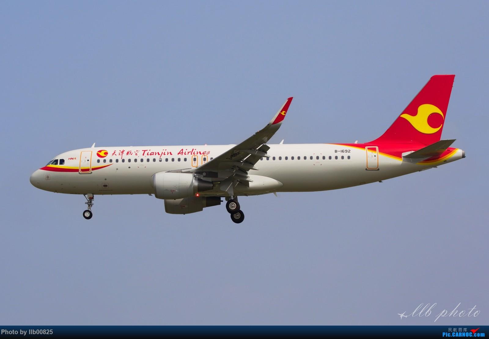 [原创]XIY一图流——天津航空新飞机 AIRBUS A320-200 B-1692 中国西安咸阳国际机场