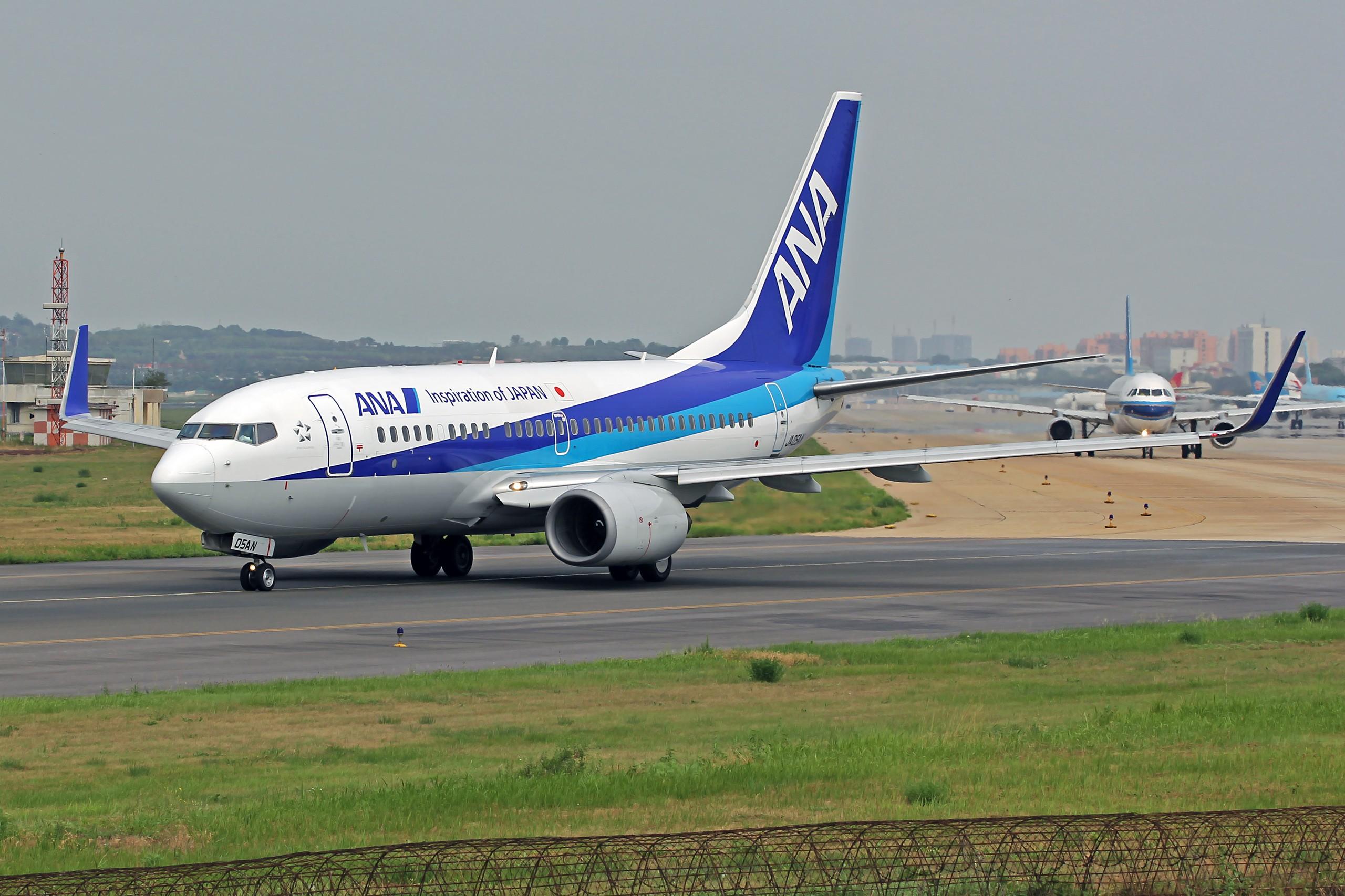 Re:[原创][DLC]...窄体机...2560x1707}Pix BOEING 737-700 JA05AN 中国大连周水子国际机场