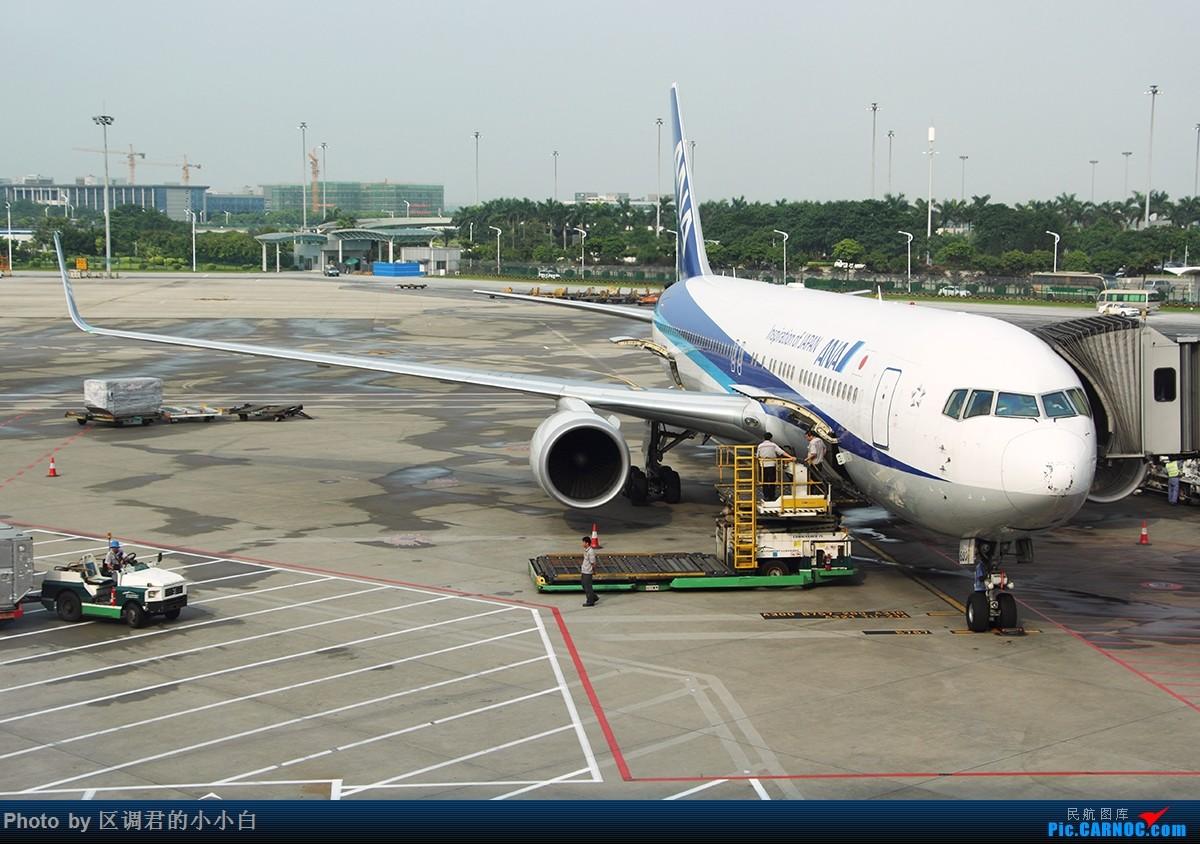 [原创]就这样去了澳洲 BOEING 767-300 JA620A 中国广州白云国际机场