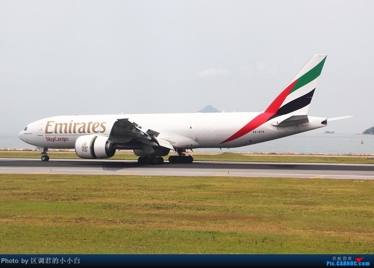 Re:[原创]就这样去了澳洲 BOEING 777 A6-EFK 中国香港赤鱲角国际机场