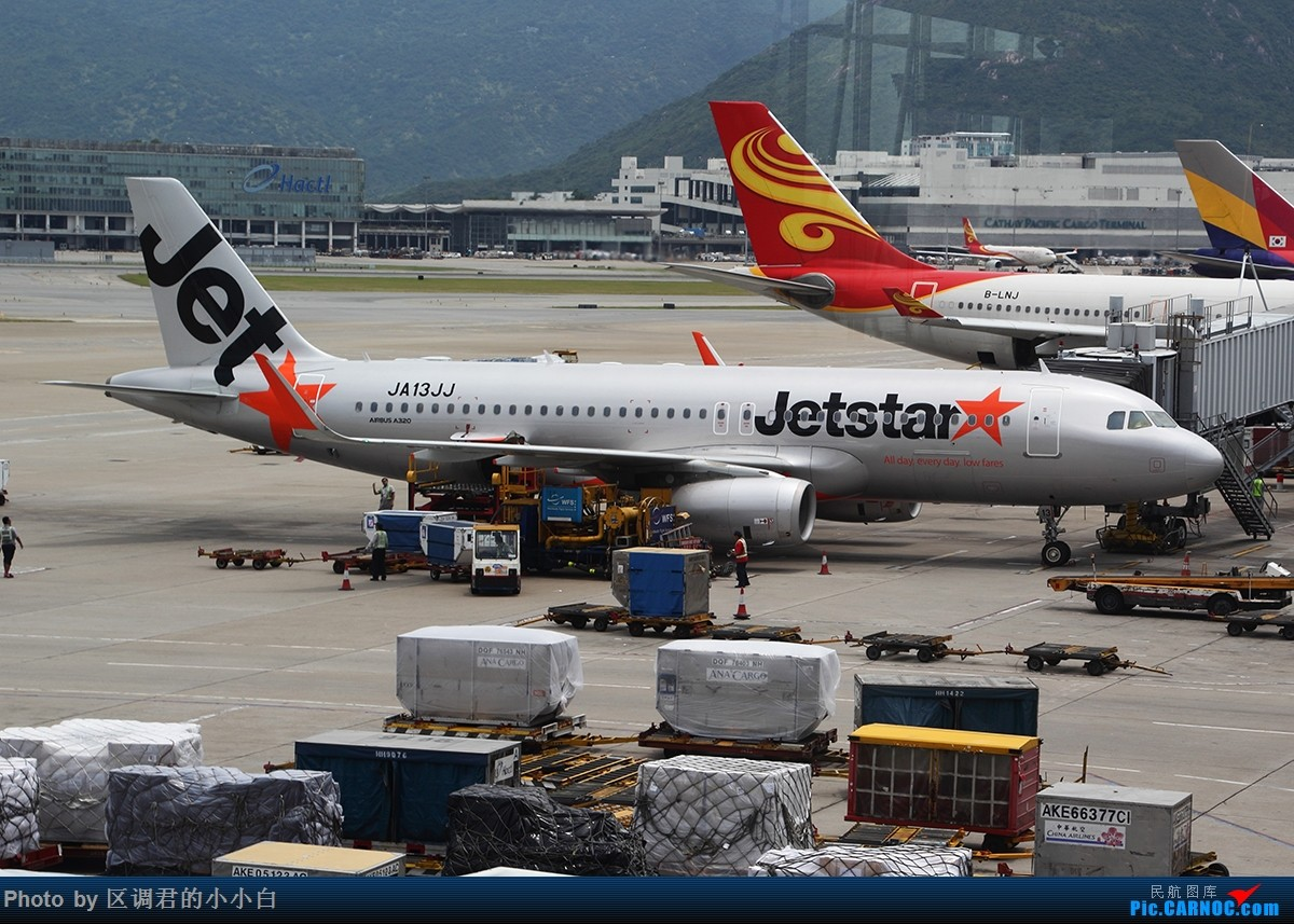 Re:[原创]就这样去了澳洲 AIRBUS A320-200 JA113JJ 中国香港赤鱲角国际机场