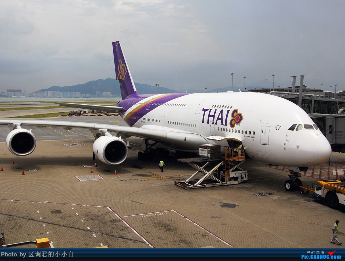 Re:[原创]就这样去了澳洲 AIRBUS A380-800 HS-TUC 中国香港赤鱲角国际机场