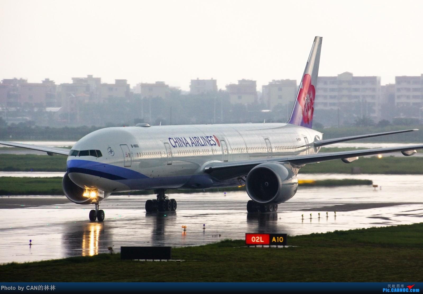 [原创]------重口味华航1图------ BOEING 777-300ER B-18001 中国广州白云国际机场