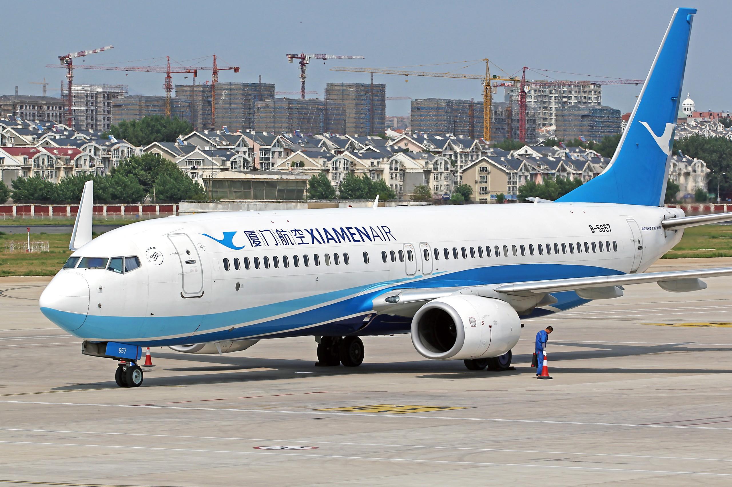 Re:[原创][DLC]...窄体机...2560x1707}Pix BOEING 737-800 B-5657 中国大连周水子国际机场