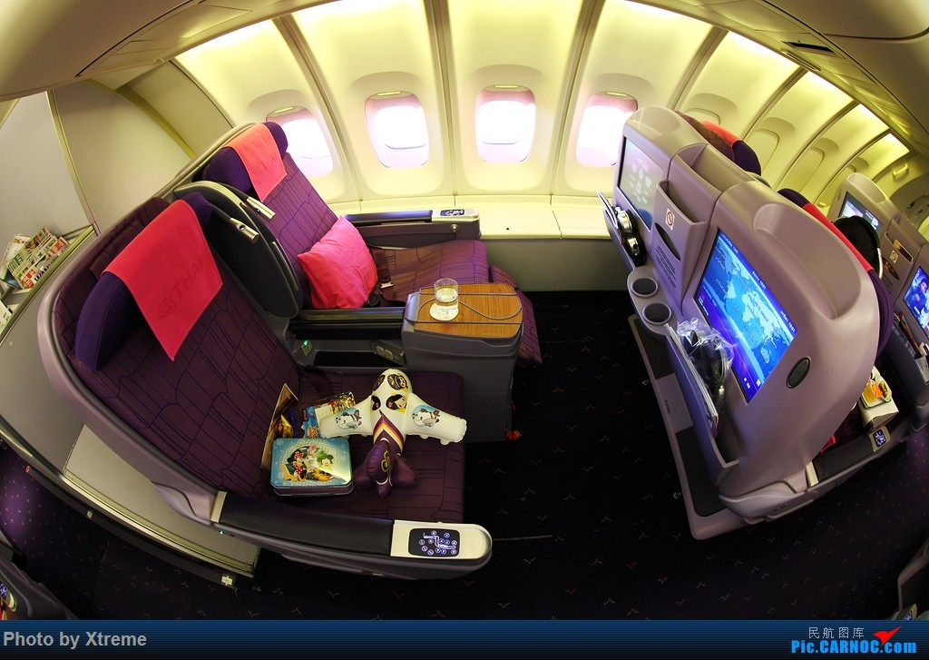 Re:[原创][CASG]大神们说 有空还是要回来看看的 BOEING 747-400 HS-TGB 泰国曼谷素万那普国际机场