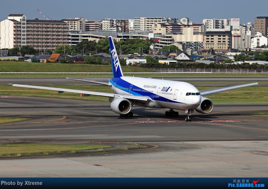 Re:[原创][CASG]大神们说 有空还是要回来看看的 BOEING 777-300  日本伊丹机场