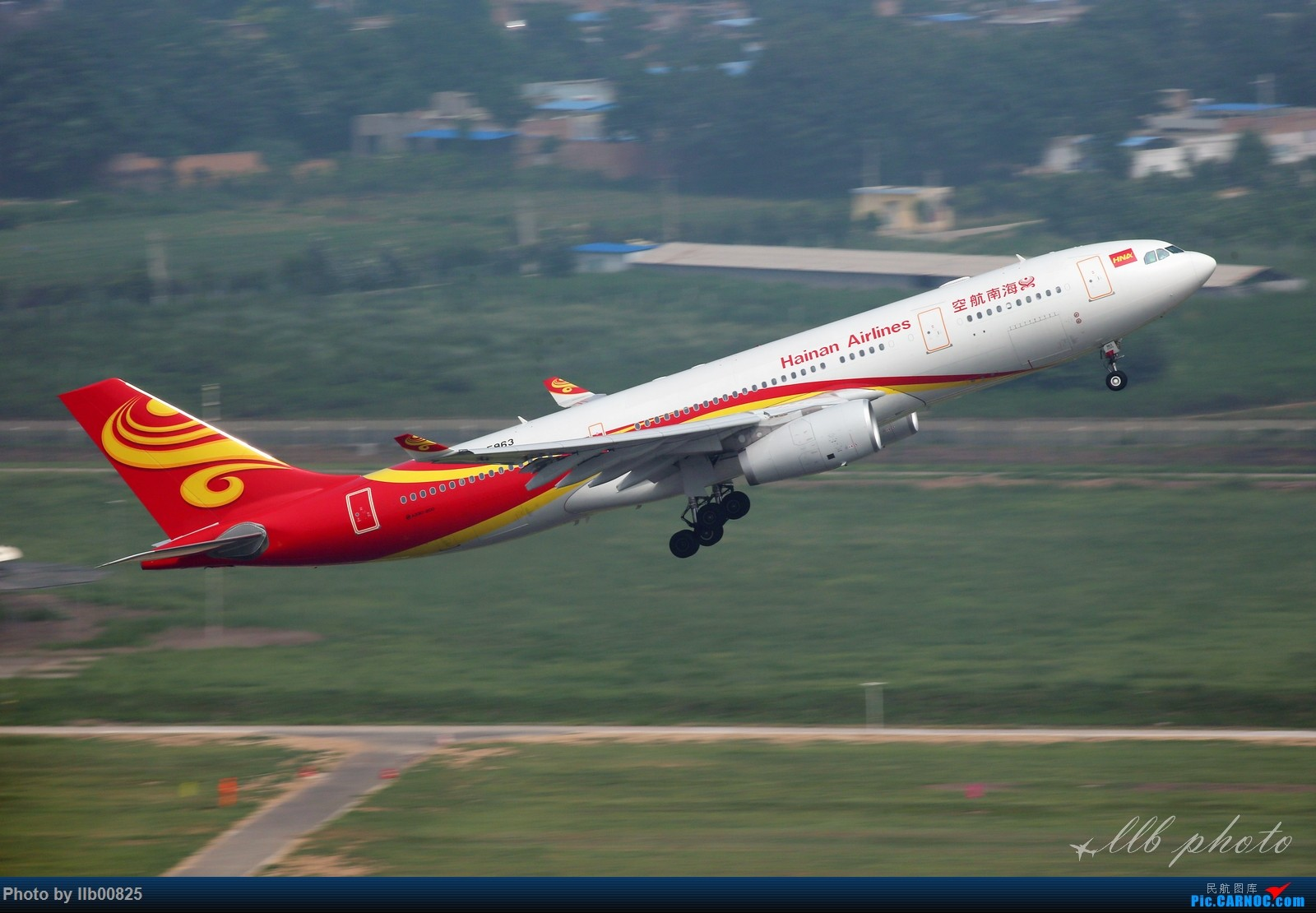 [原创]XIY——一些杂图 AIRBUS A330-200 B-5963 中国西安咸阳国际机场