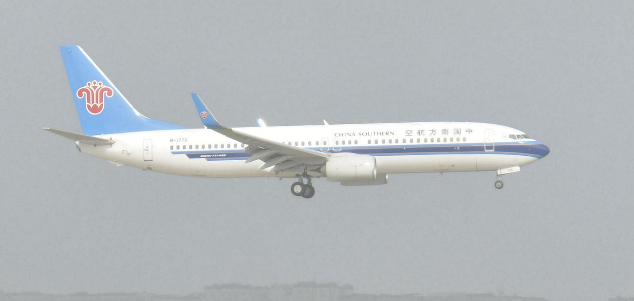Re:[原创]第一次好好拍机,画质就别想了。。 BOEING 737-800 B-1776 中国重庆江北国际机场