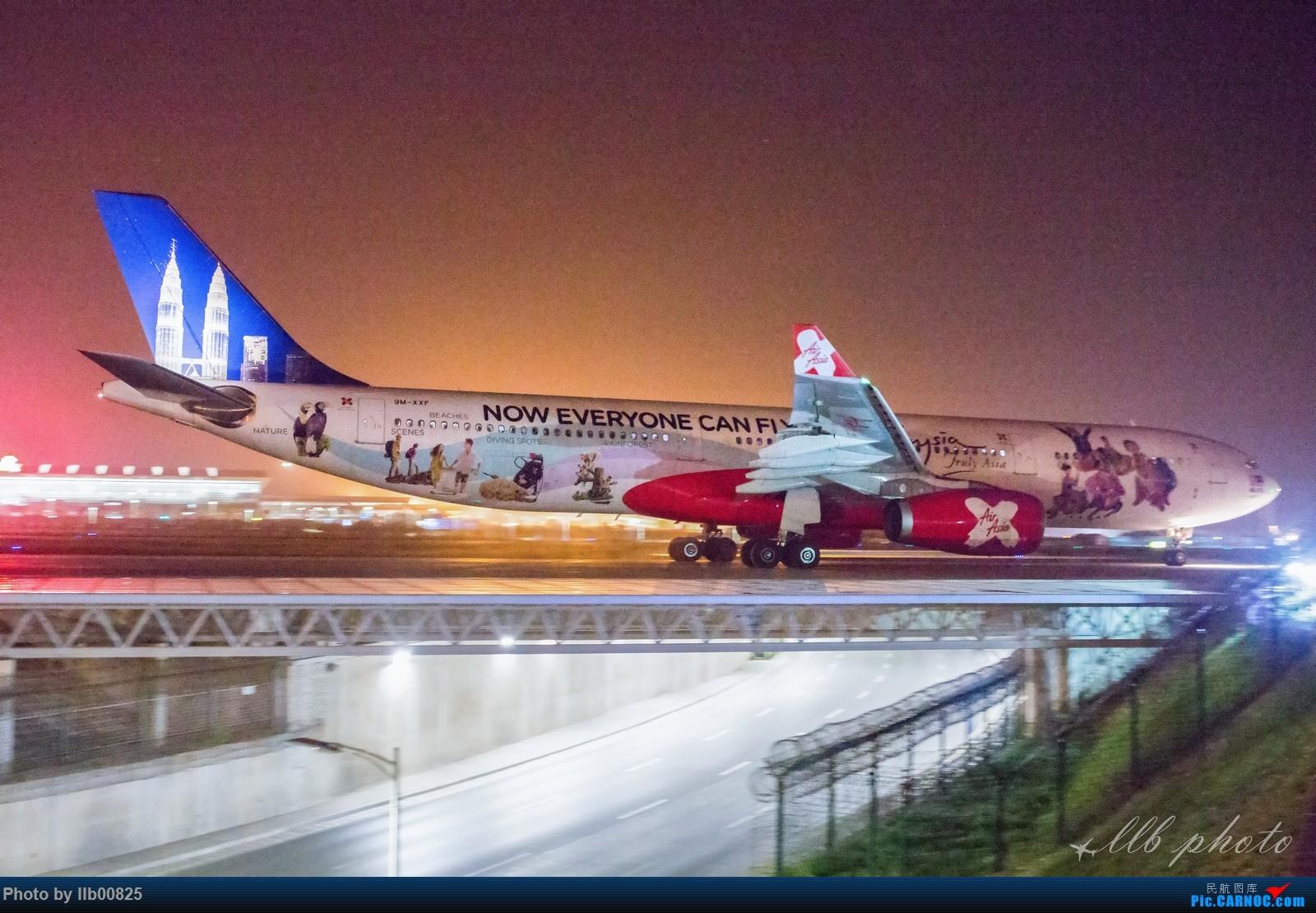 [原创]XIY——两万感光度下的夜拍 AIRBUS A330-300 BM-XXF 中国西安咸阳国际机场