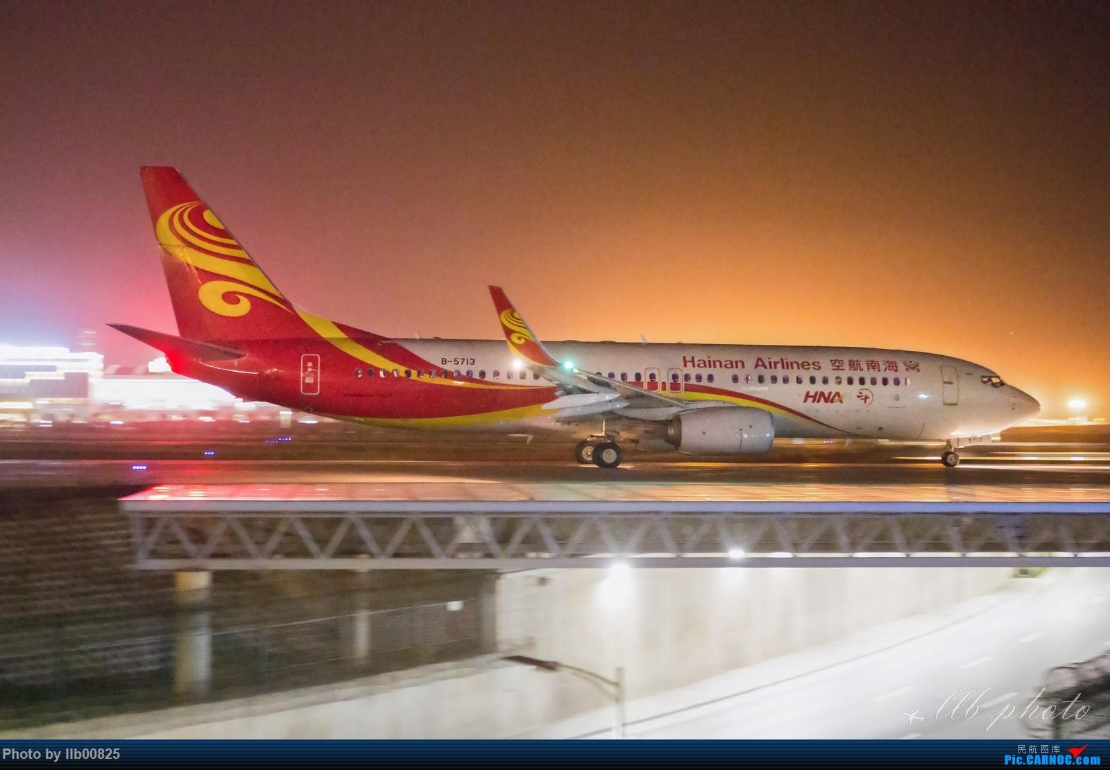 Re:[原创]XIY——两万感光度下的夜拍 BOEING 737-800 B-5713 中国西安咸阳国际机场