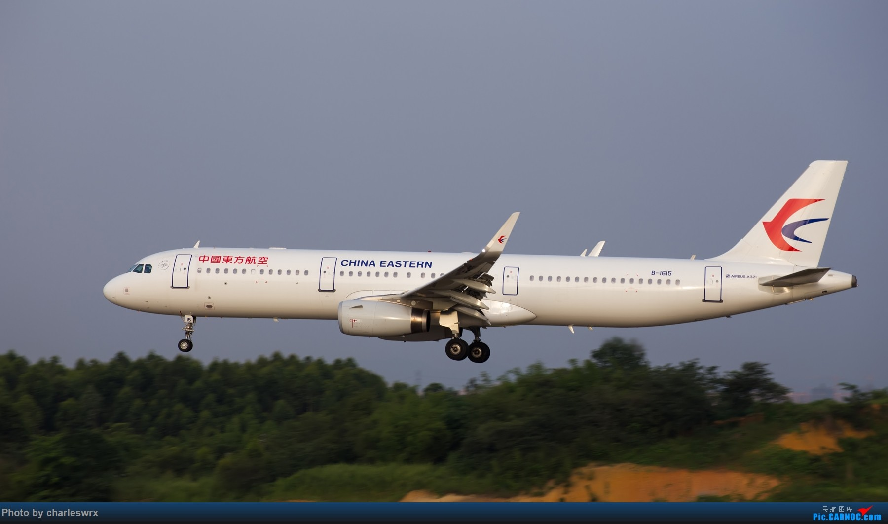 Re:[原创]夕阳余晖下的CTU AIRBUS A321-200 B-1615 中国成都双流国际机场