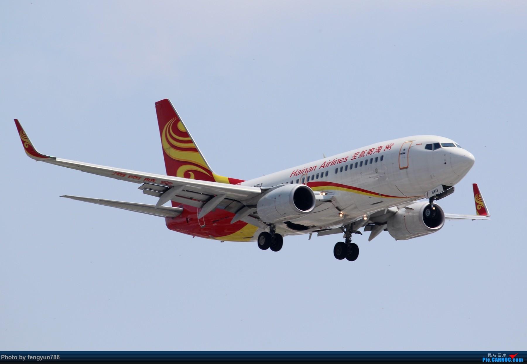 Re:[原创]7.19的SHA,天晴温高,发几个跟前一天不一样的。 BOEING 737-700 B-5813 中国上海虹桥国际机场