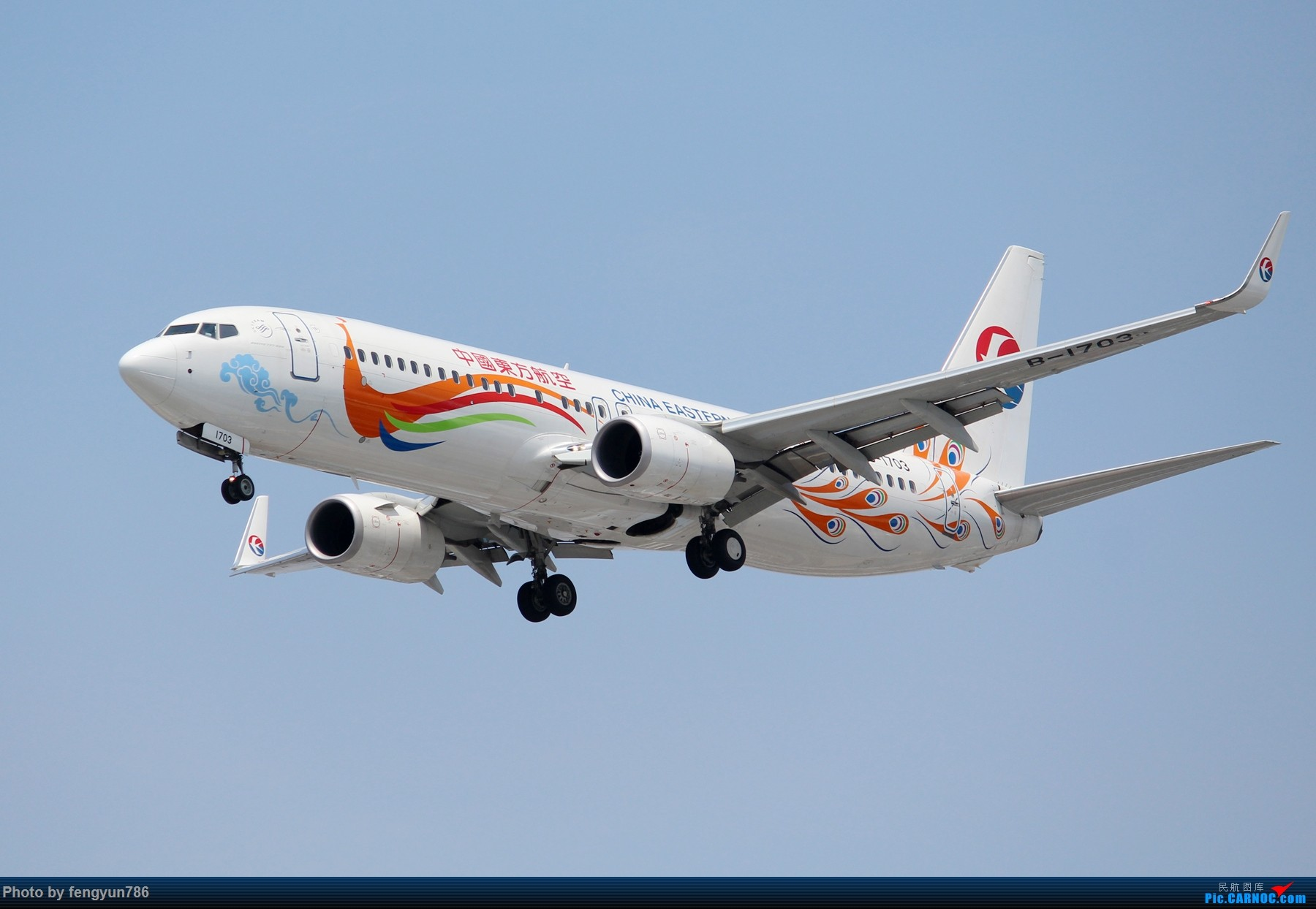 Re:[原创]7.19的SHA,天晴温高,发几个跟前一天不一样的。 BOEING 737-800 B-1703 中国上海虹桥国际机场