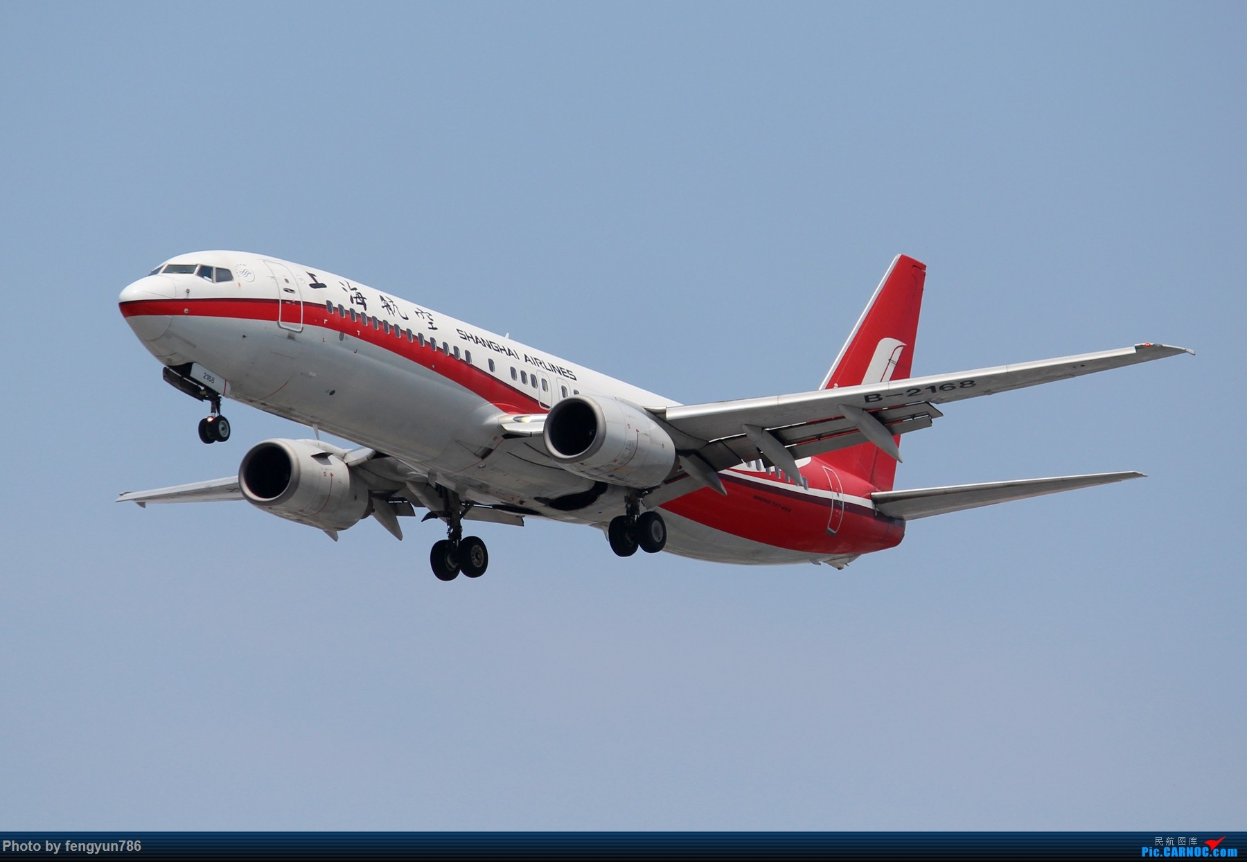Re:[原创]7.19的SHA,天晴温高,发几个跟前一天不一样的。 BOEING 737-800 B-2168 中国上海虹桥国际机场