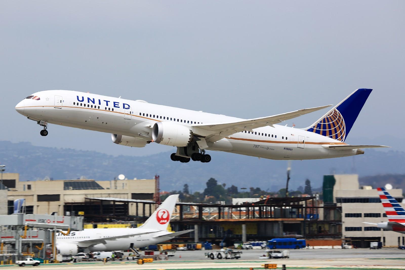 Re:[原创]【LAX】**********Imperial Hill小合集:重载拉起们的日常[1600*1067]********** BOEING 787-9 N19951 美国洛杉矶机场
