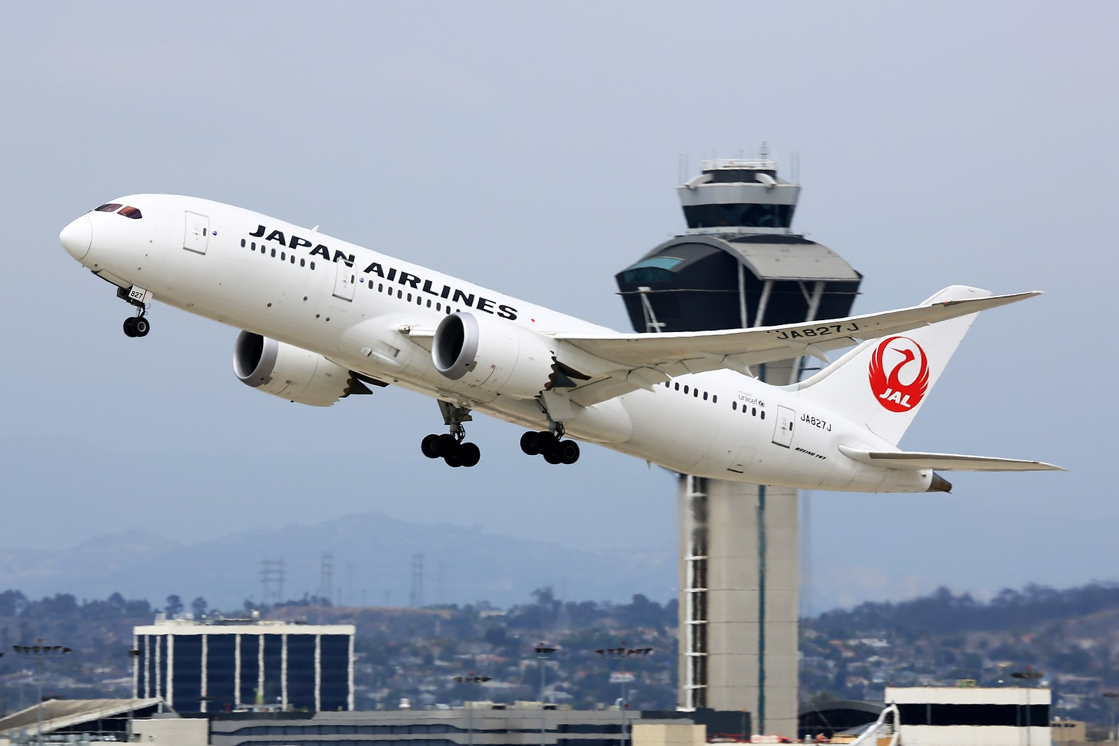 Re:[原创]【LAX】**********Imperial Hill小合集:重载拉起们的日常[1600*1067]********** BOEING 787-8 JA827J 美国洛杉矶机场