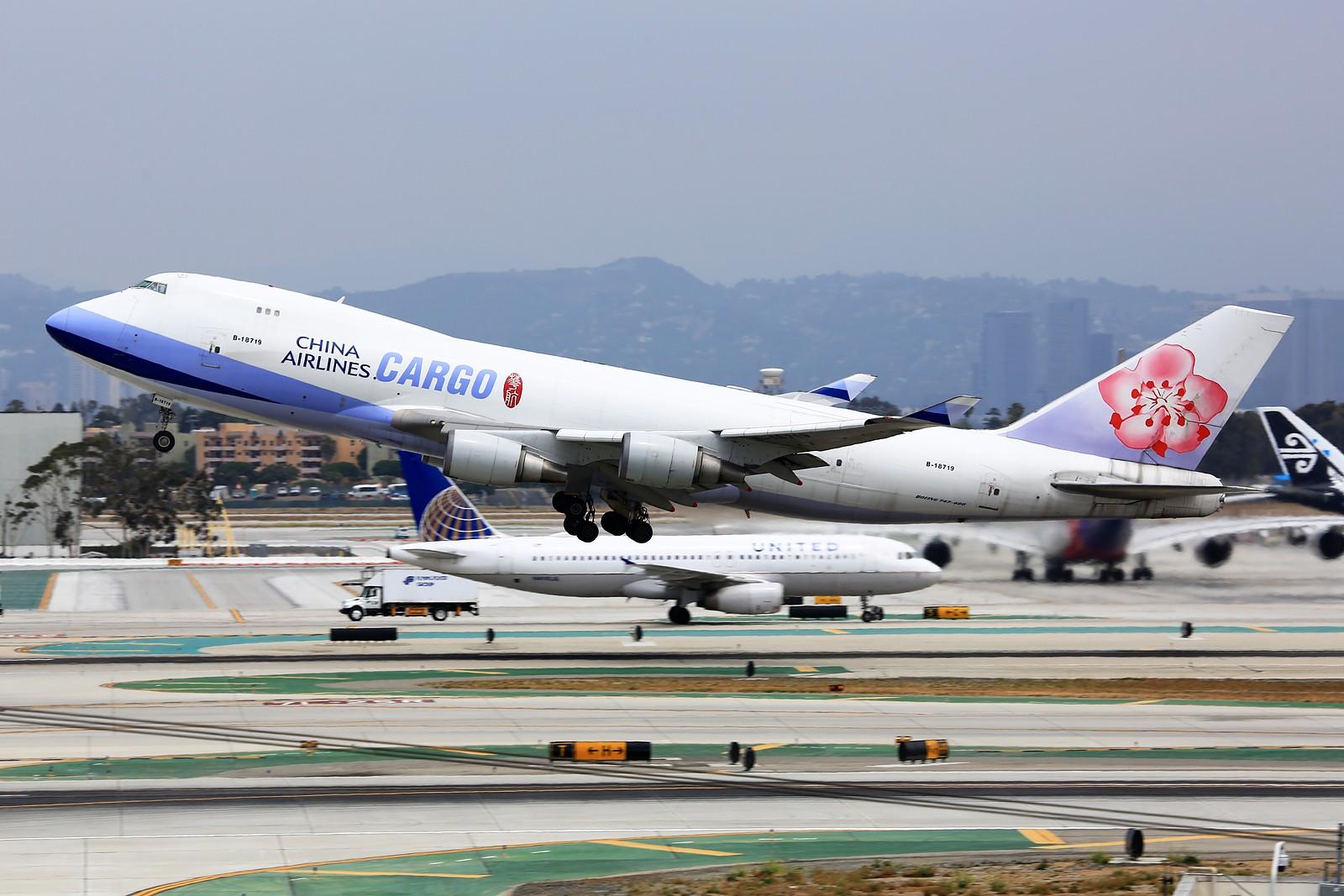 Re:[原创]【LAX】**********Imperial Hill小合集:重载拉起们的日常[1600*1067]********** BOEING 747-400F B-18719 美国洛杉矶机场