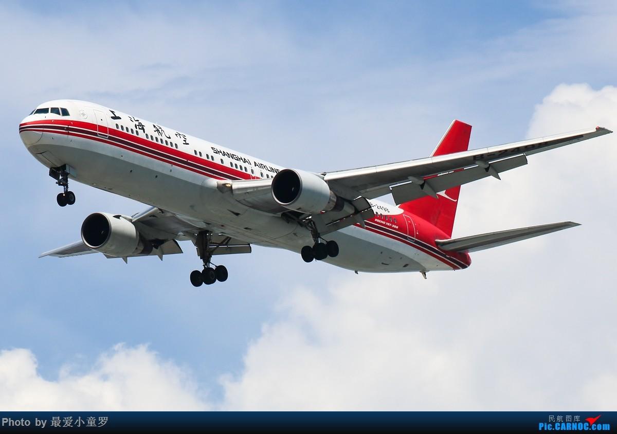 Re:[原创]有一段时间没发图了——深圳机场六月初的天 BOEING 767-300 B-2498 中国深圳宝安国际机场