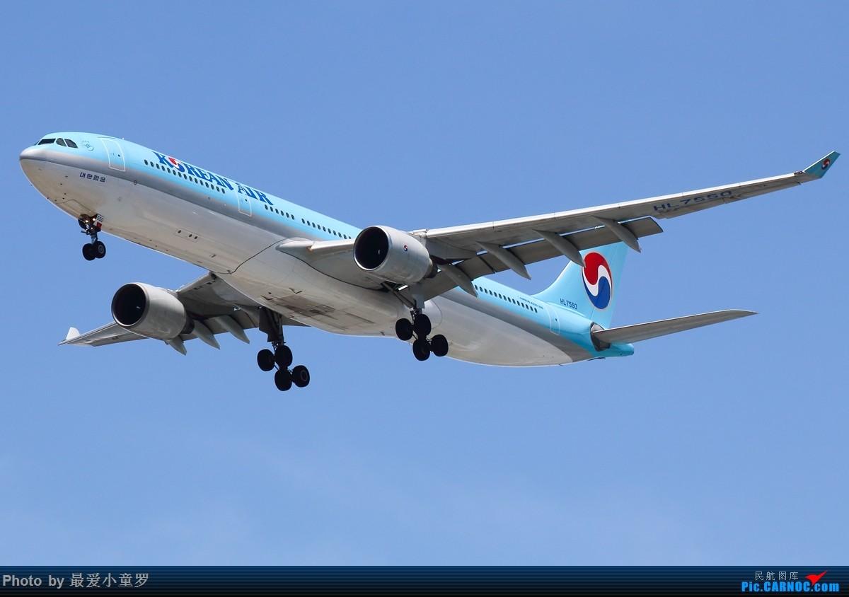 Re:[原创]有一段时间没发图了——深圳机场六月初的天 AIRBUS A330-300 HL7550 中国深圳宝安国际机场
