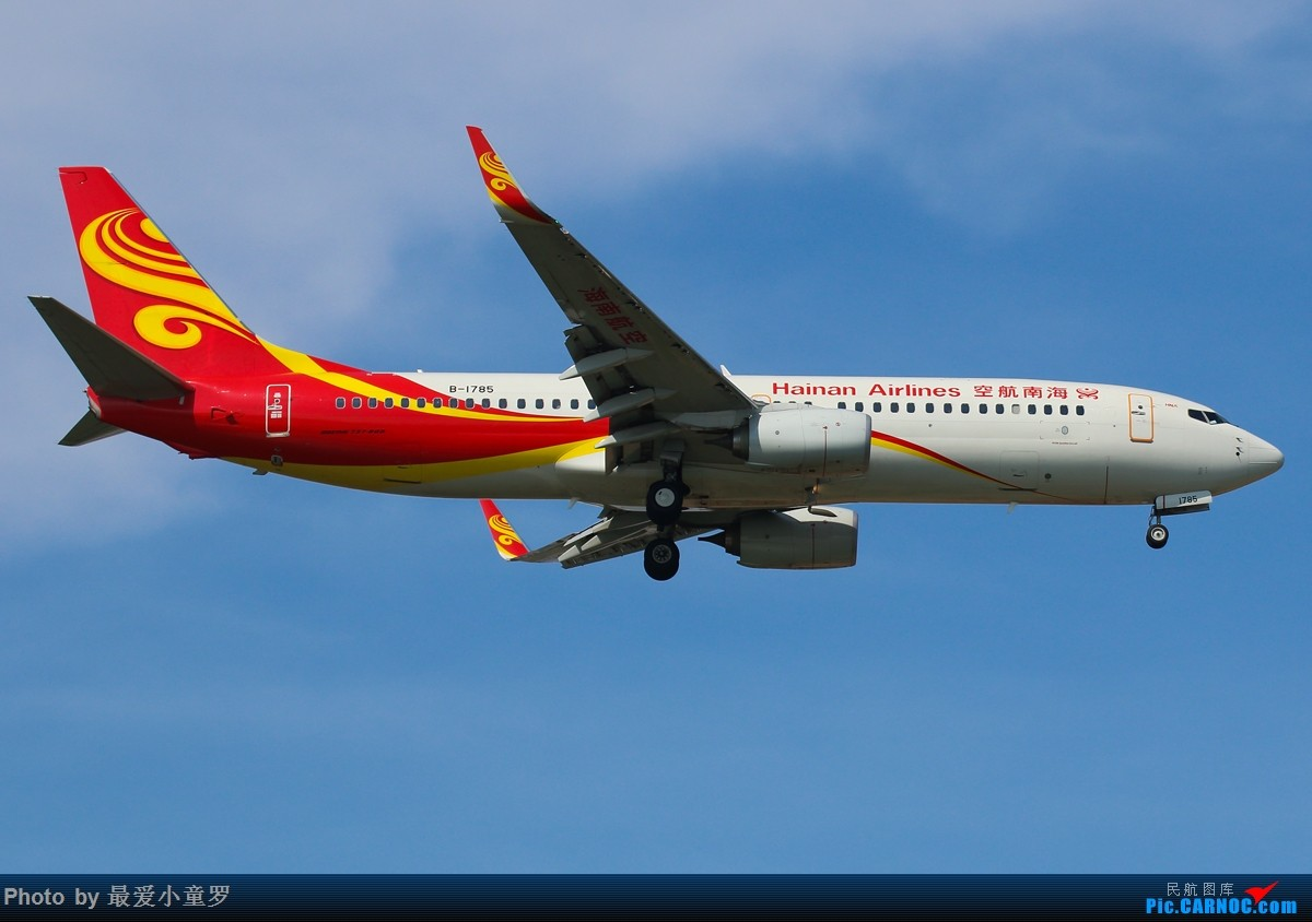 Re:[原创]有一段时间没发图了——深圳机场六月初的天 BOEING 737-800 B-1785 中国深圳宝安国际机场