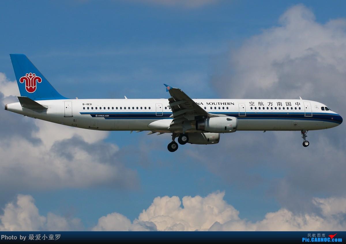 Re:[原创]有一段时间没发图了——深圳机场六月初的天 AIRBUS A321-200 B-1831 中国深圳宝安国际机场