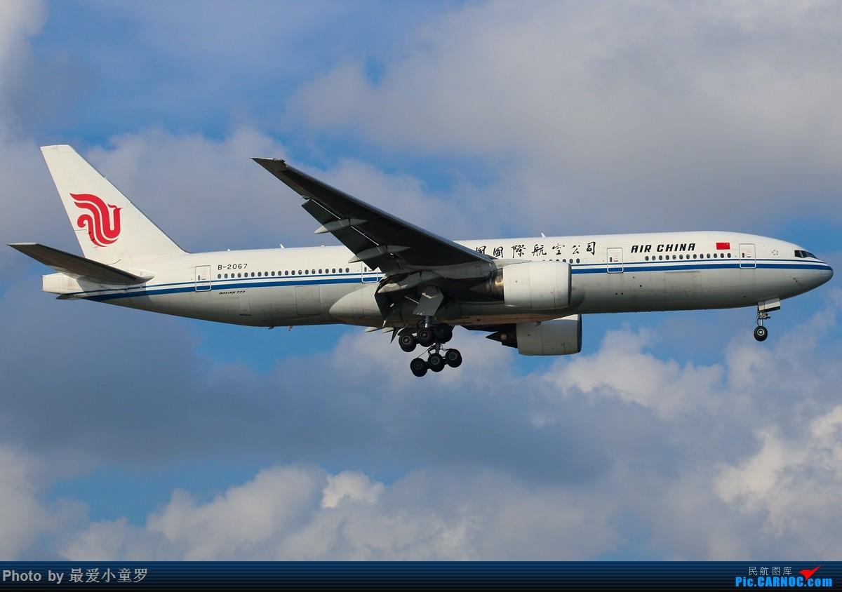 Re:[原创]有一段时间没发图了——深圳机场六月初的天 BOEING 777-200 B-2067 中国深圳宝安国际机场