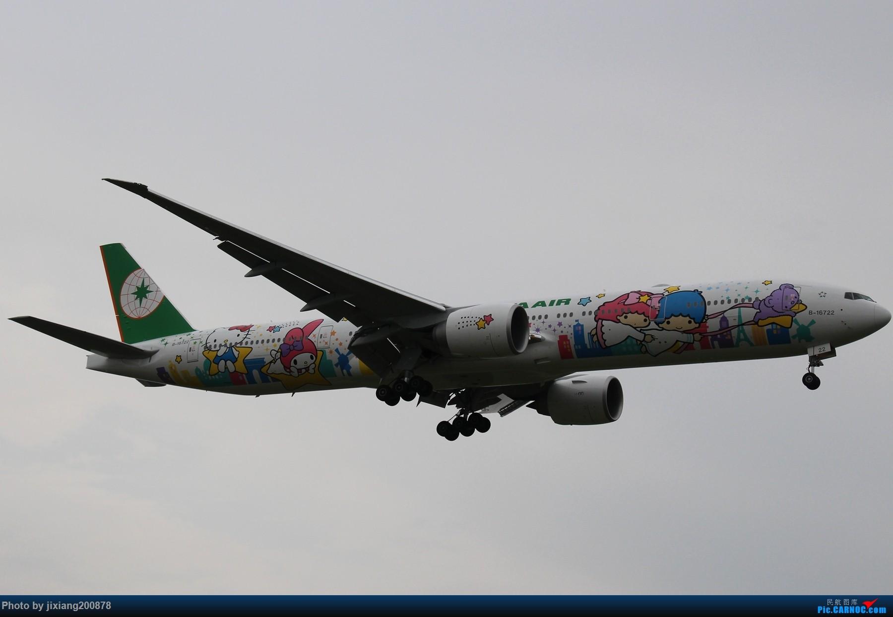 Re:[原创]7.28 PEK看拉烟儿 BOEING 777-300ER B-16722 中国北京首都国际机场
