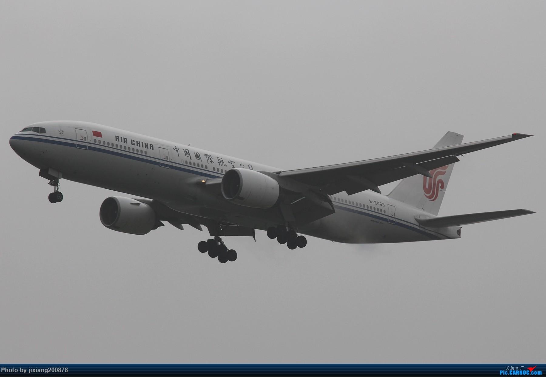 Re:[原创]7.28 PEK看拉烟儿 BOEING 777-200 B-2069 中国北京首都国际机场