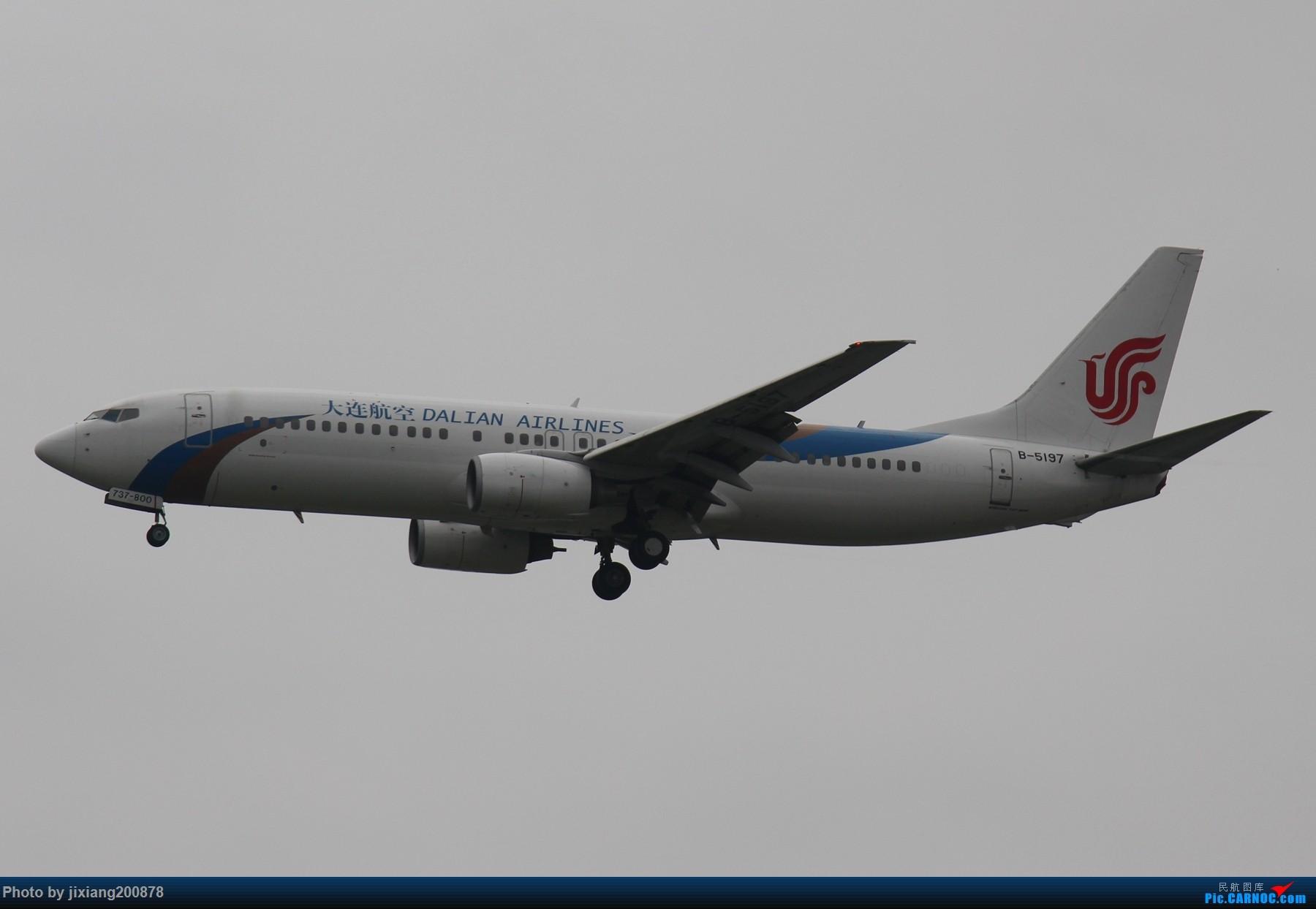 Re:[原创]7.28 PEK看拉烟儿 BOEING 737-800 B-5197 中国北京首都国际机场