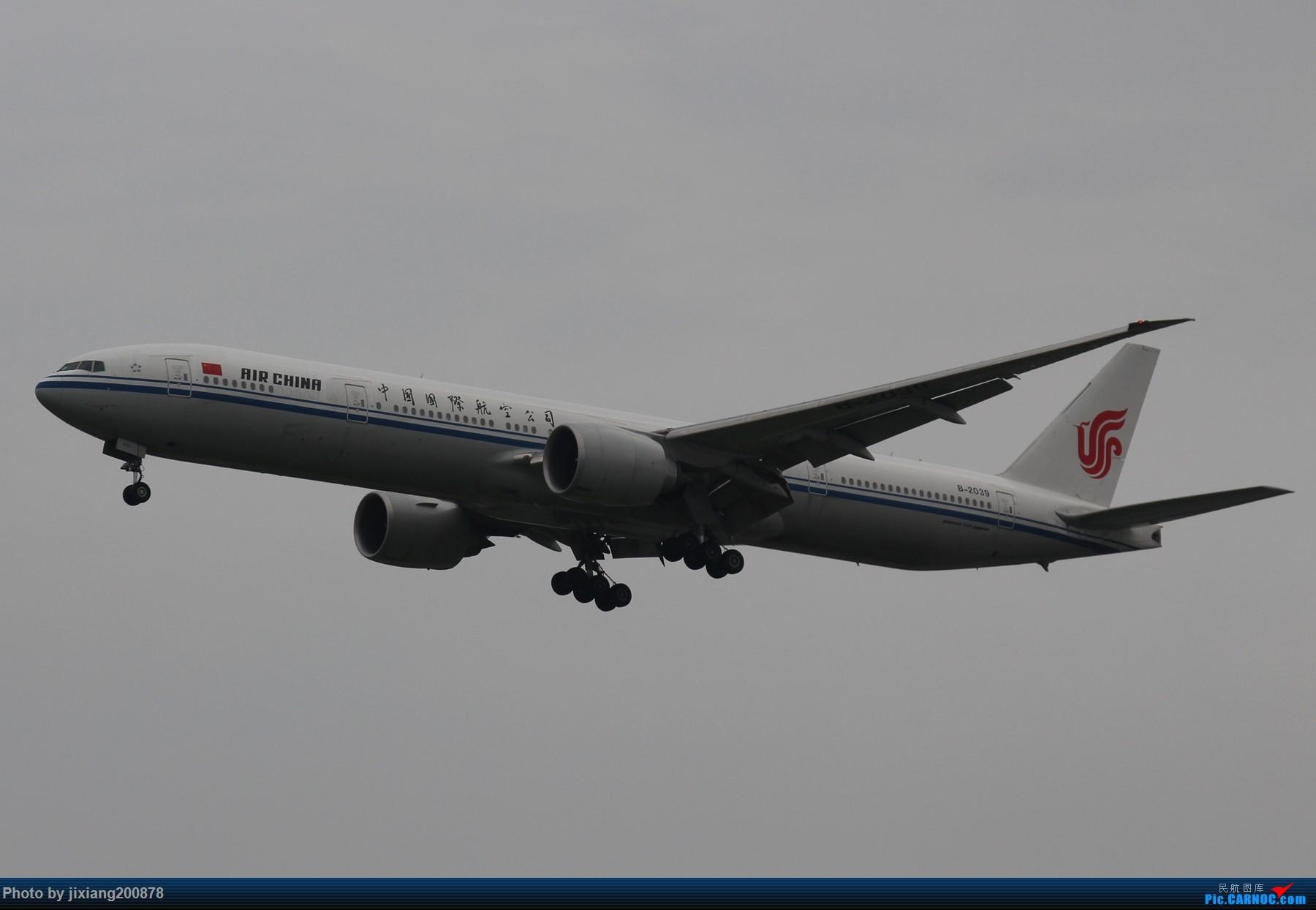 Re:[原创]7.28 PEK看拉烟儿 BOEING 777-300ER B-2039 中国北京首都国际机场