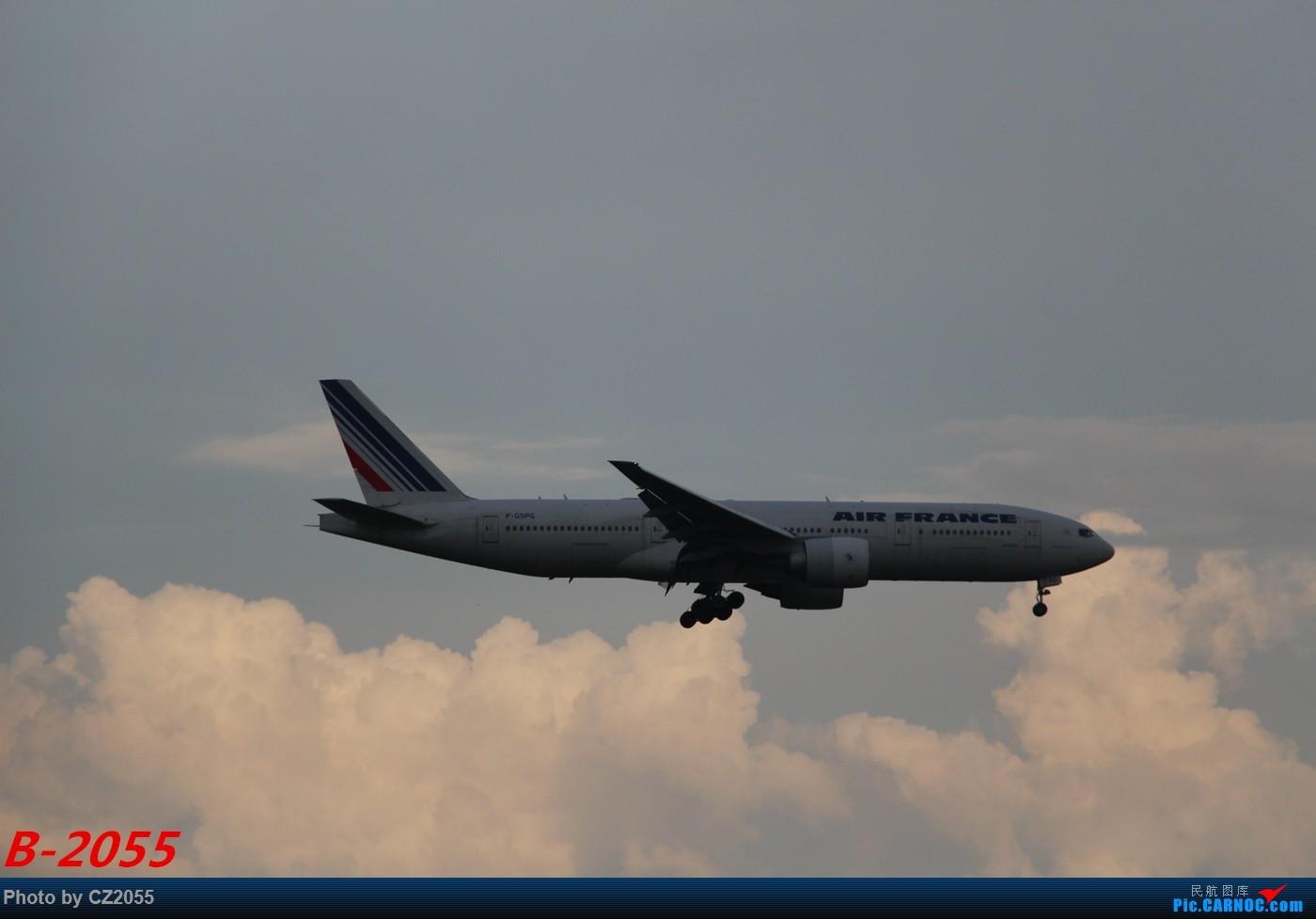 Re:[原创]【广东青少年拍机小队】【C-Z-2055】灰常灰常倒霉的一次拍机! BOEING 777-200 F-GSPG 中国广州白云国际机场