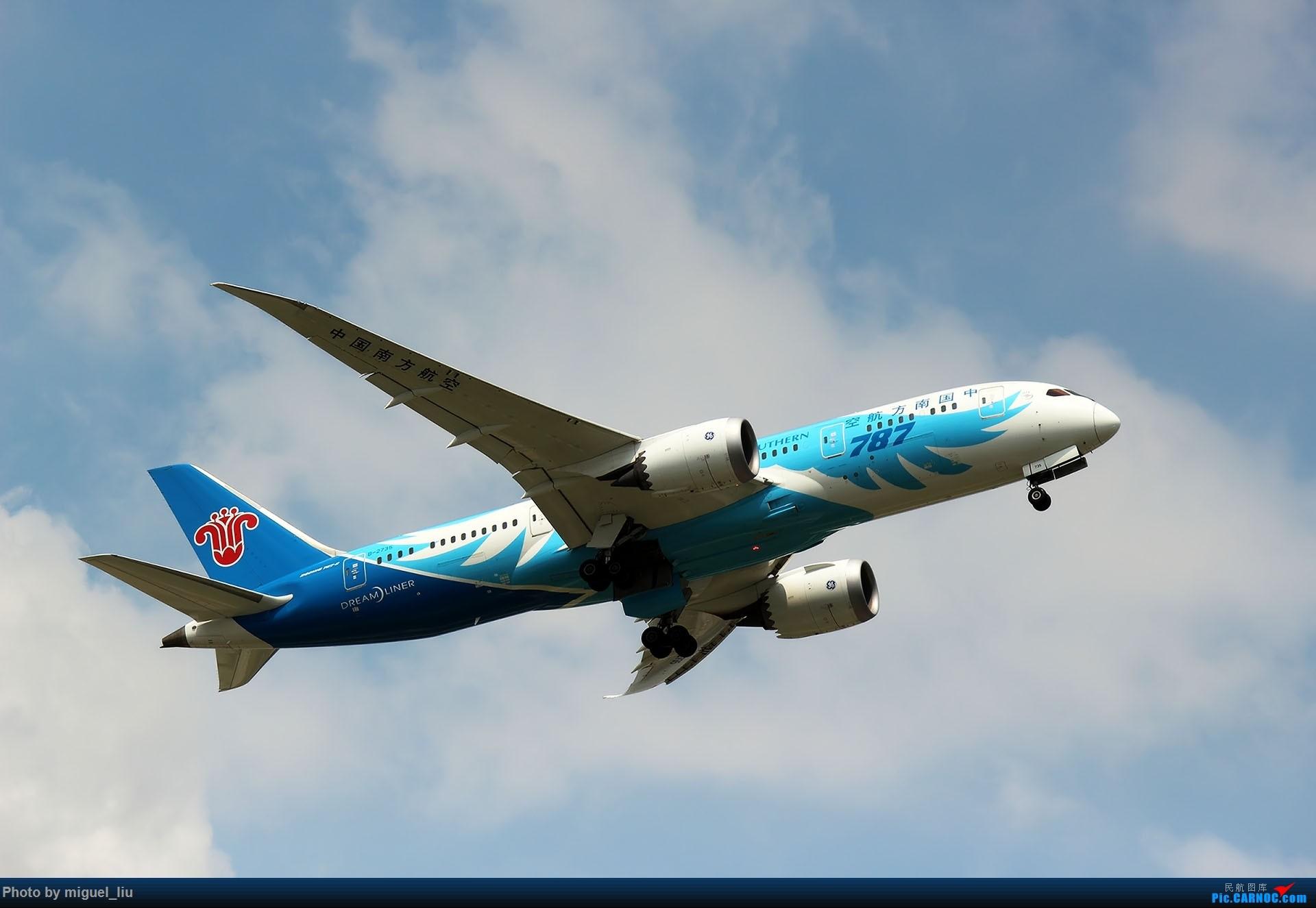 Re:[原创][*********Miguel_liu********]7月28日例行打卡 BOEING 787-8 B-2735 中国广州白云国际机场