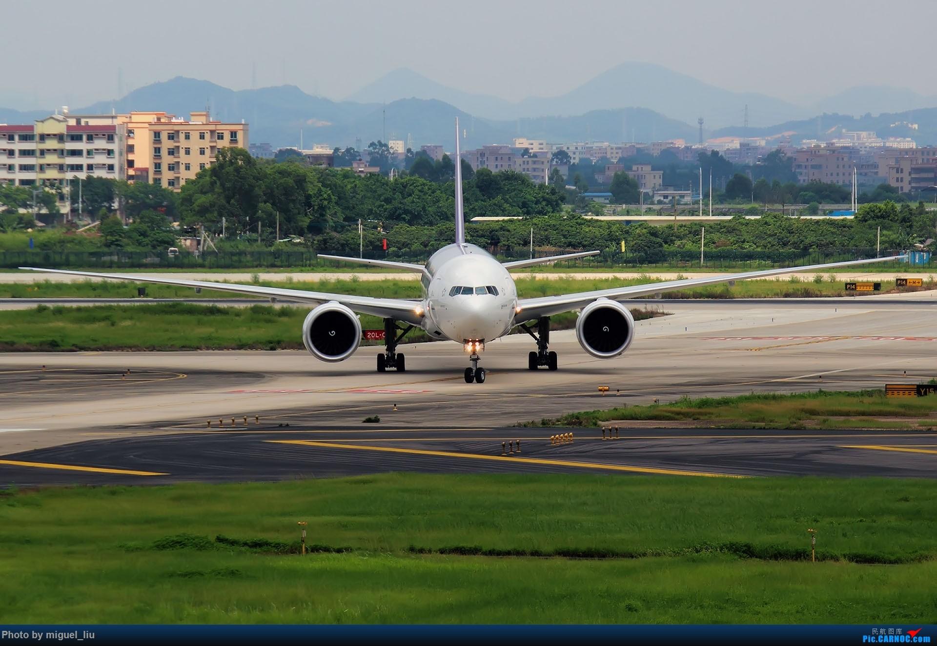 Re:[原创][*********Miguel_liu********]7月28日例行打卡 BOEING 777-300ER HS-TKW 中国广州白云国际机场