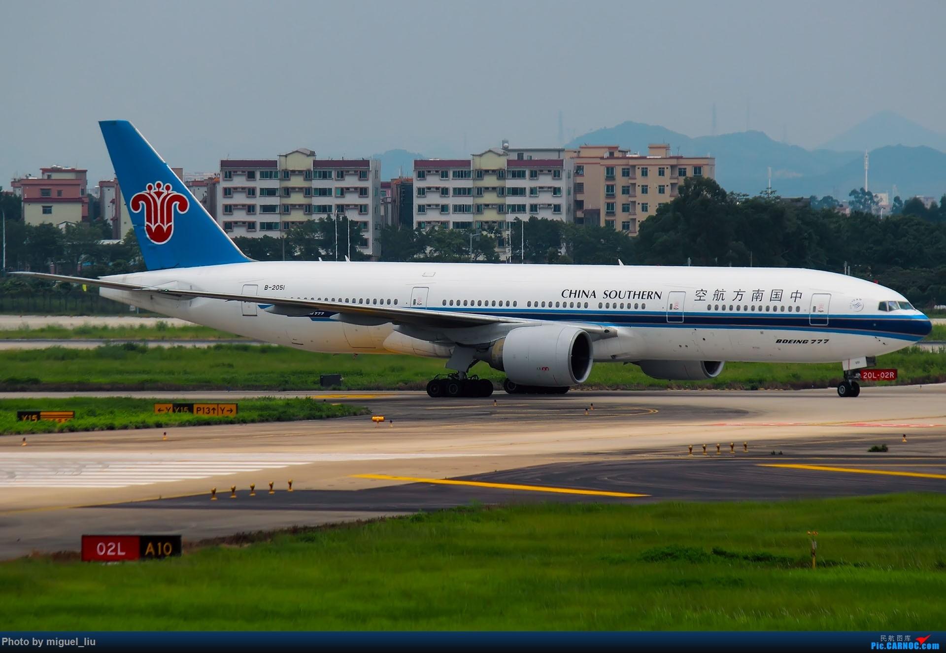 Re:[原创][*********Miguel_liu********]7月28日例行打卡 BOEING 777-200 B-2051 中国广州白云国际机场