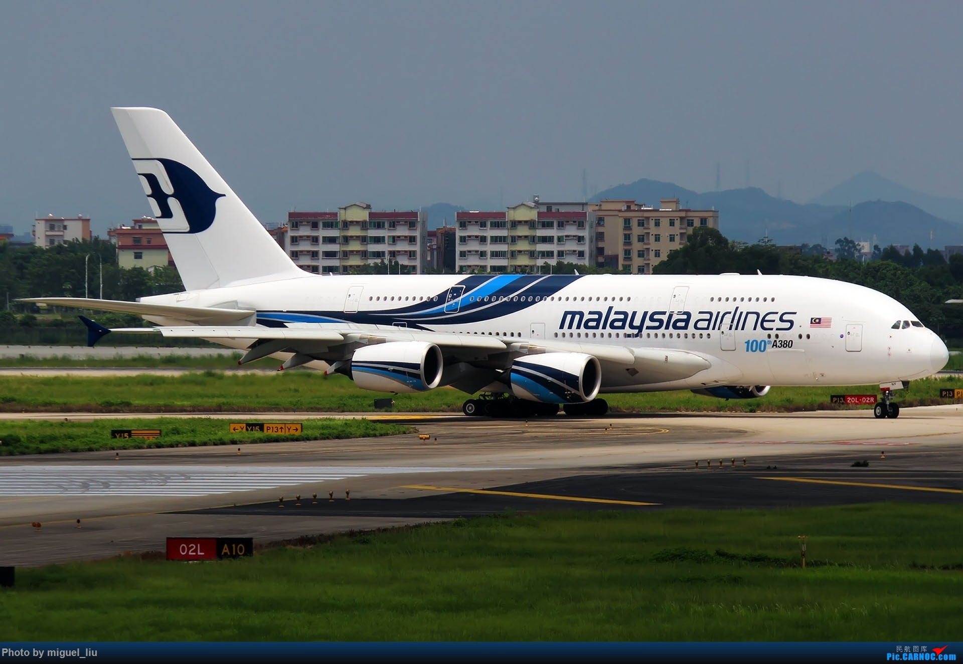 Re:[原创][*********Miguel_liu********]7月28日例行打卡 AIRBUS A380-800 9M-MNF 中国广州白云国际机场