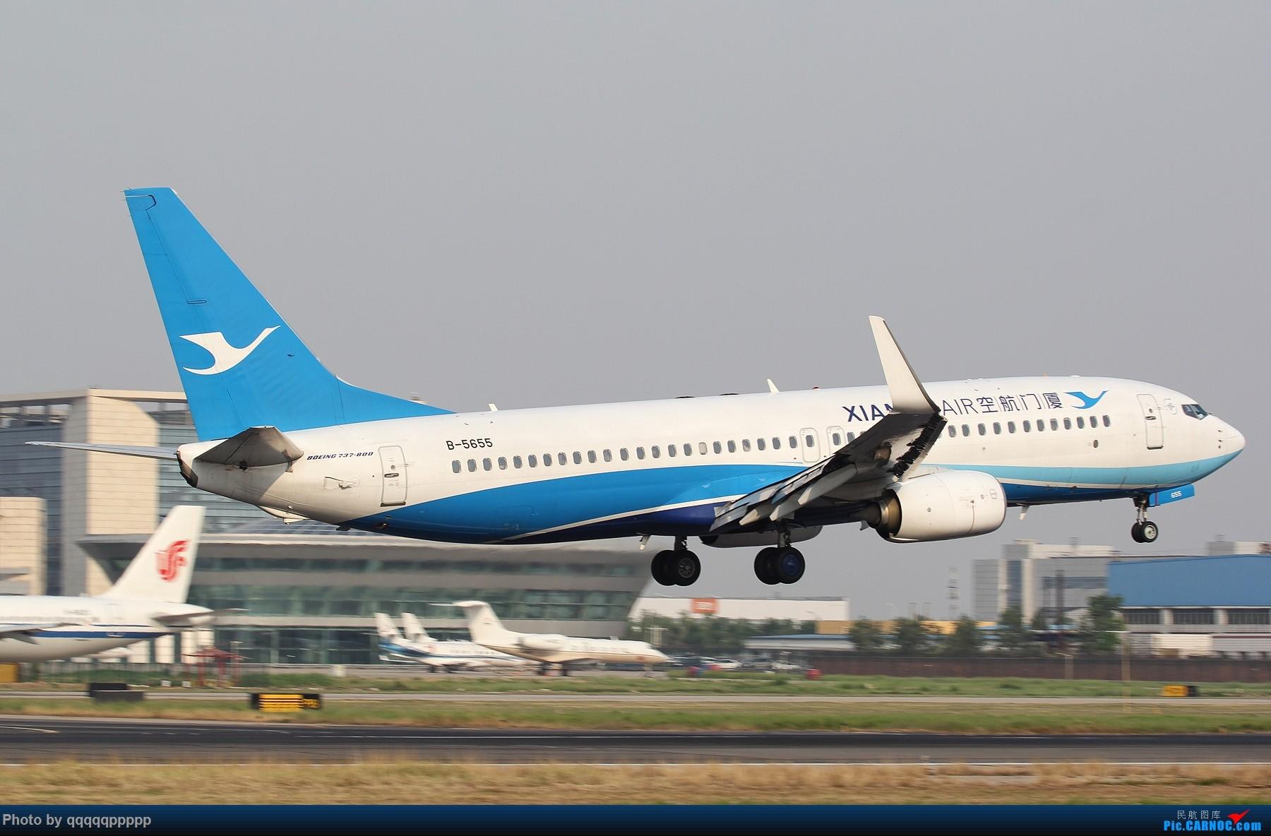 Re:[原创]很久没来 冒个泡···· BOEING 737-800 B-5655 中国北京首都国际机场