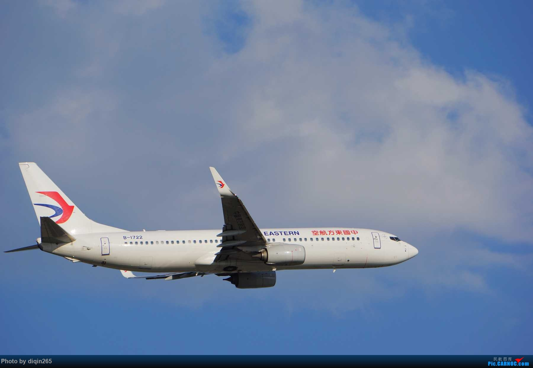 Re:[原创]CKG最近几天拍机现状:天气好 人受罪 心敞亮 BOEING 737-800 B-1722 重庆江北国际机场