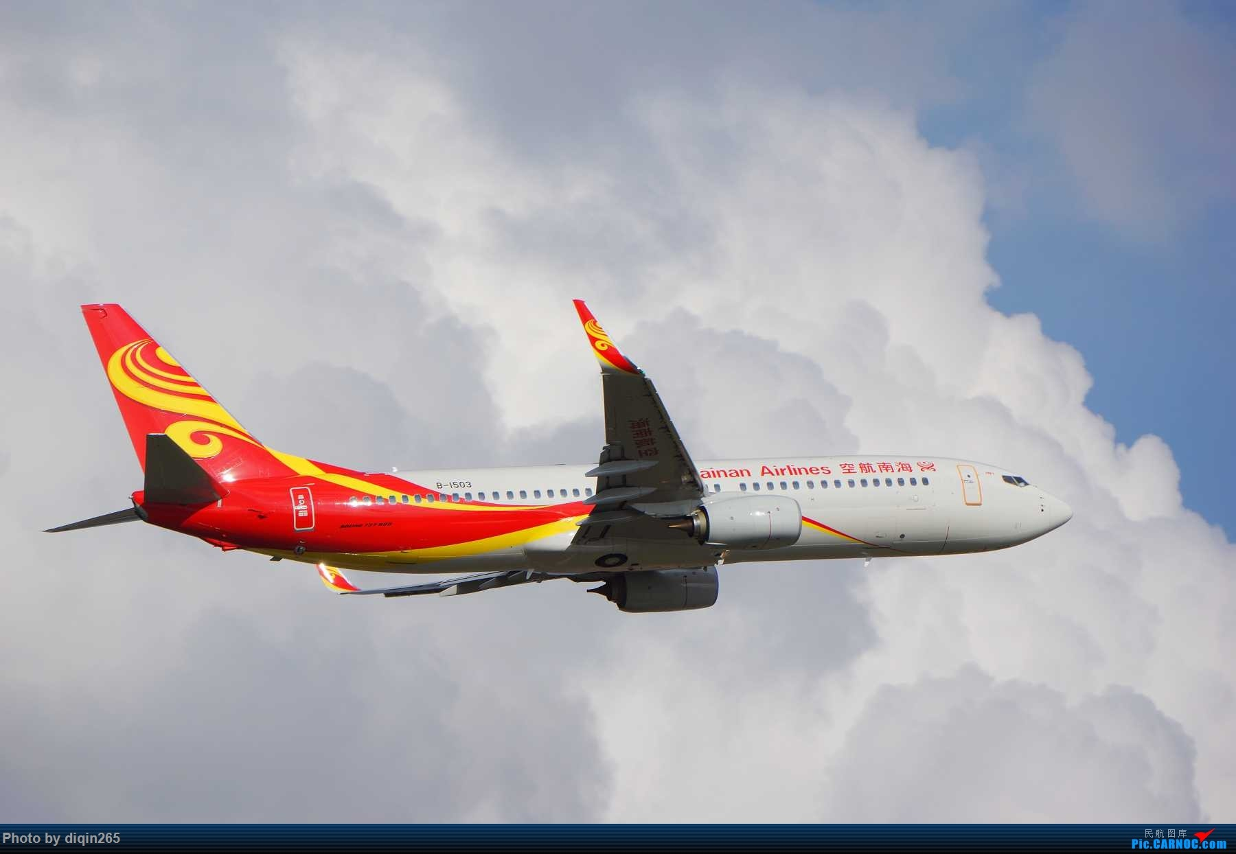 Re:[原创]CKG最近几天拍机现状:天气好 人受罪 心敞亮 BOEING 737-800 B-1503 重庆江北国际机场