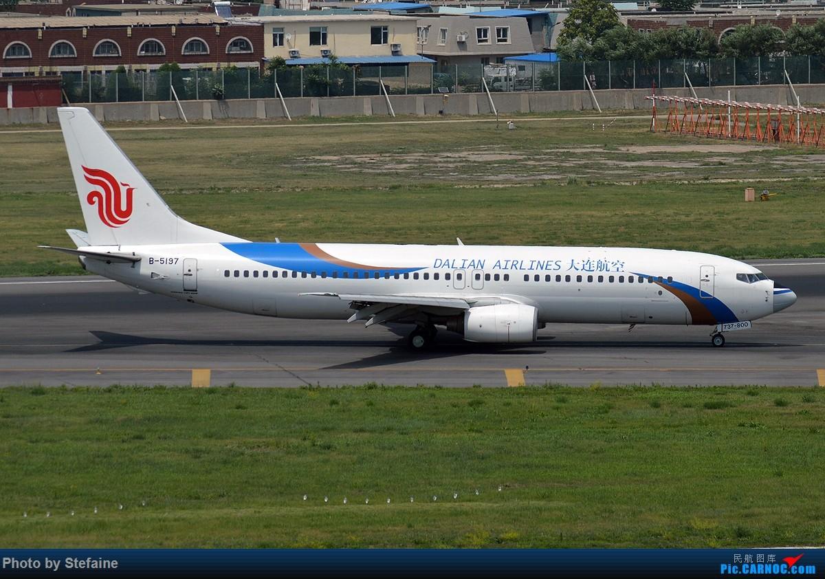 Re:[原创]【PEK首都】大连,你用了谁的鼻子? BOEING 737-800 B-5197 中国大连周水子国际机场