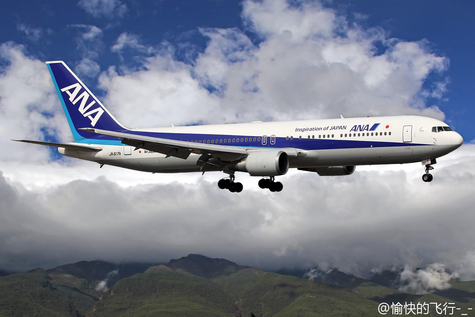 Re:[原创]。。。飞机美不美主要看背景。。。 BOEING 767-300ER