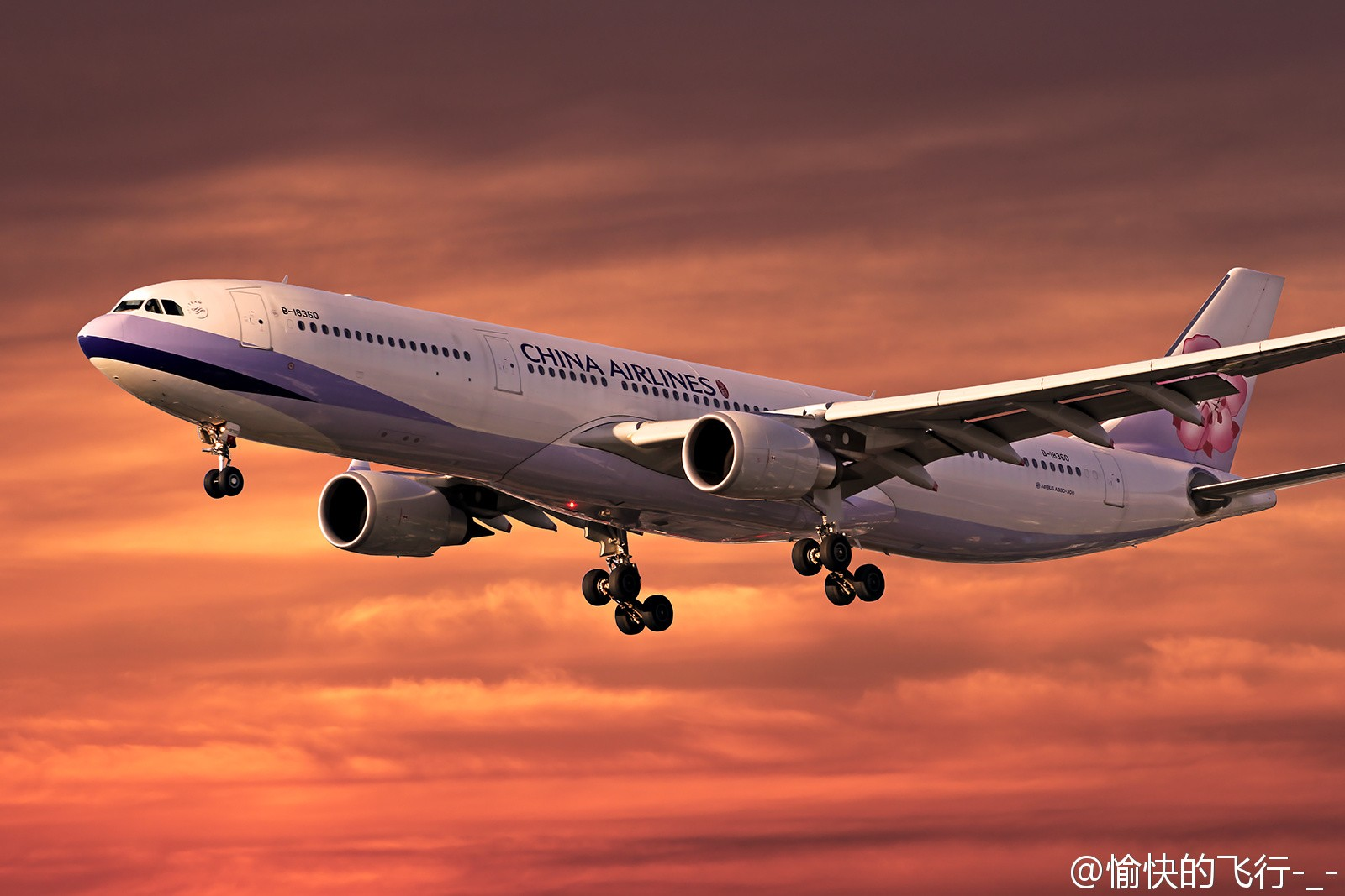 Re:[原创]。。。飞机美不美主要看背景。。。 AIRBUS A330-300 B-18360