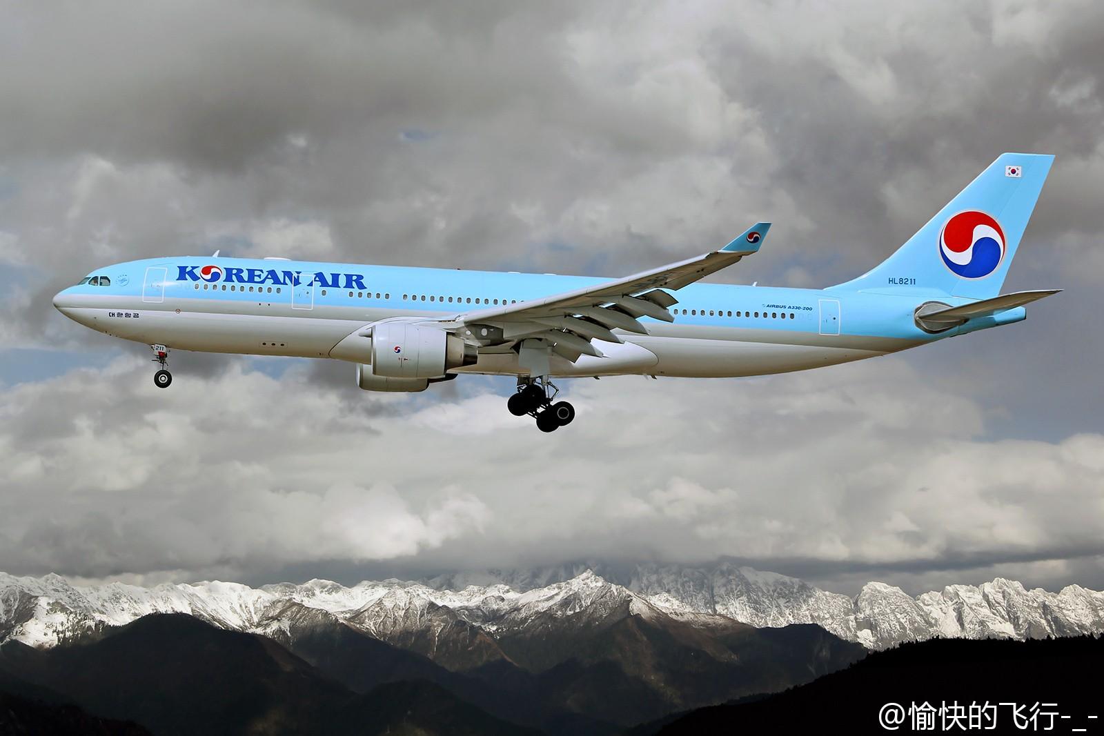 Re:[原创]。。。飞机美不美主要看背景。。。 AIRBUS A330-200 HL8211