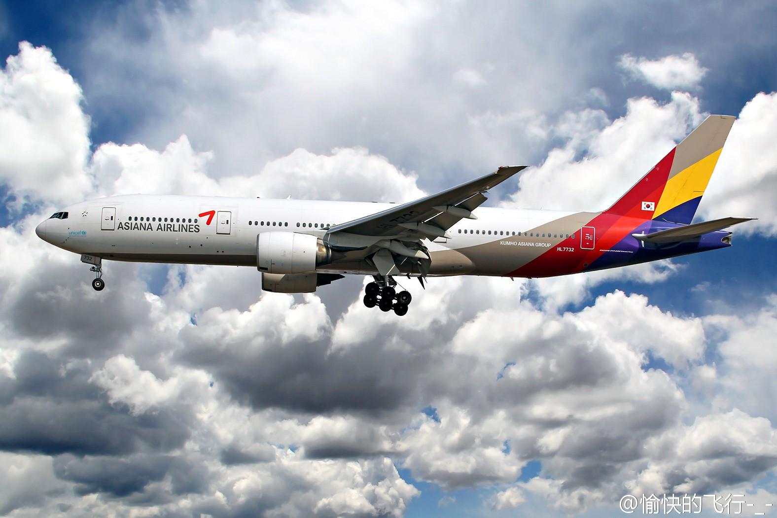 Re:[原创]。。。飞机美不美主要看背景。。。 BOEING 777-200 HL7732