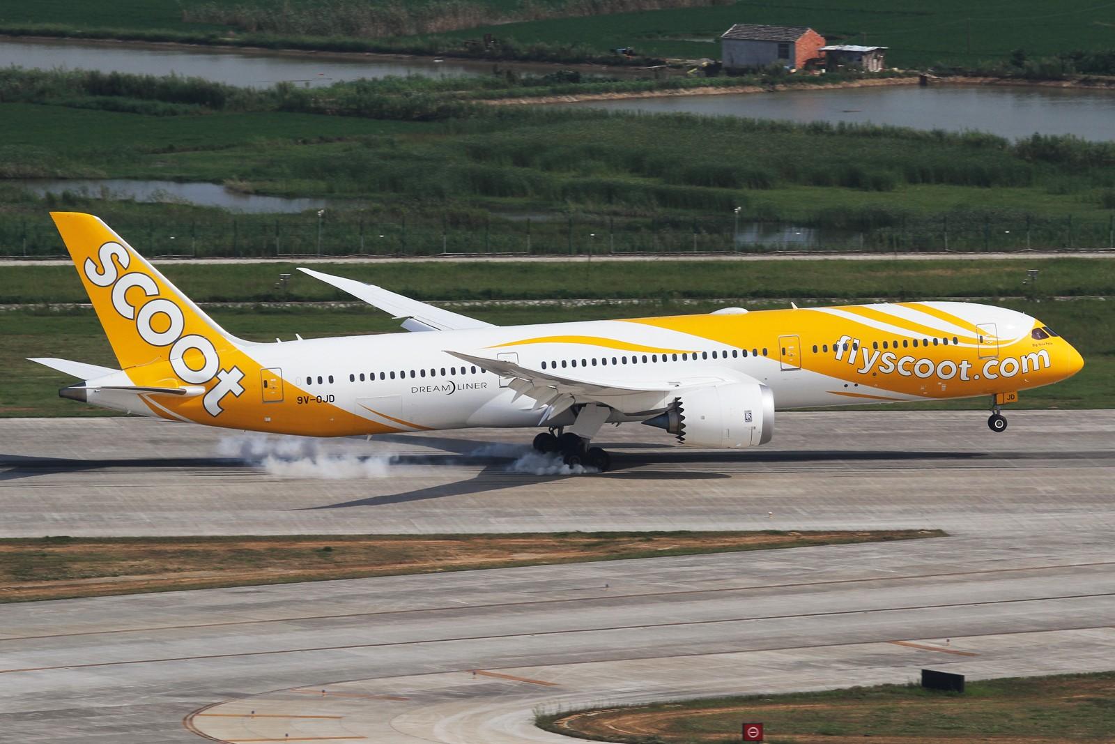 Re:【NKG】**********还是NKG,还是酷航,不过换了个角度********** BOEING 787-9 9V-OJD 中国南京禄口国际机场
