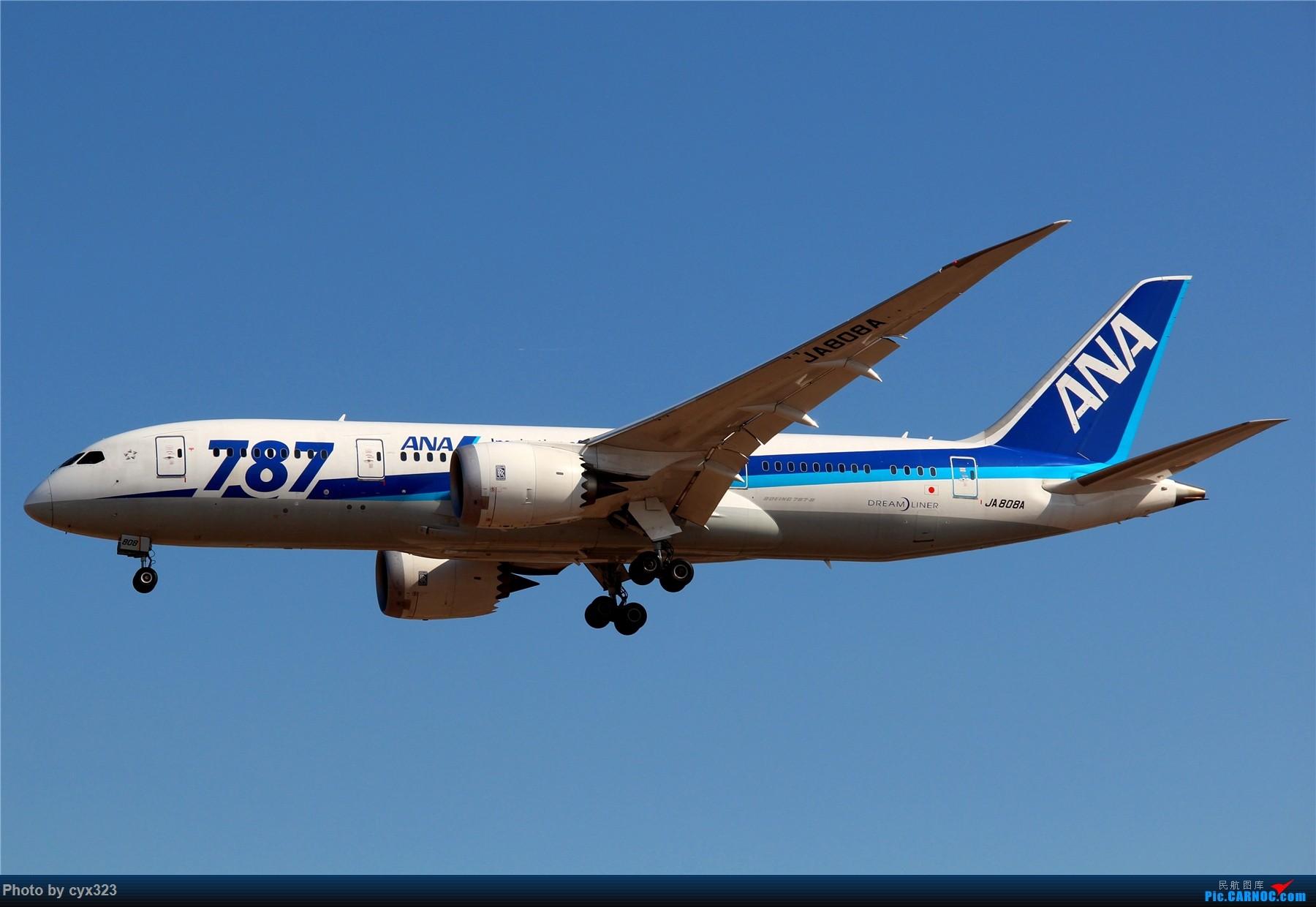 Re:[原创]纪念自己注册CARNOC十周年,PEK一些存货和新拍 BOEING 787-8 JA808A 中国北京首都国际机场