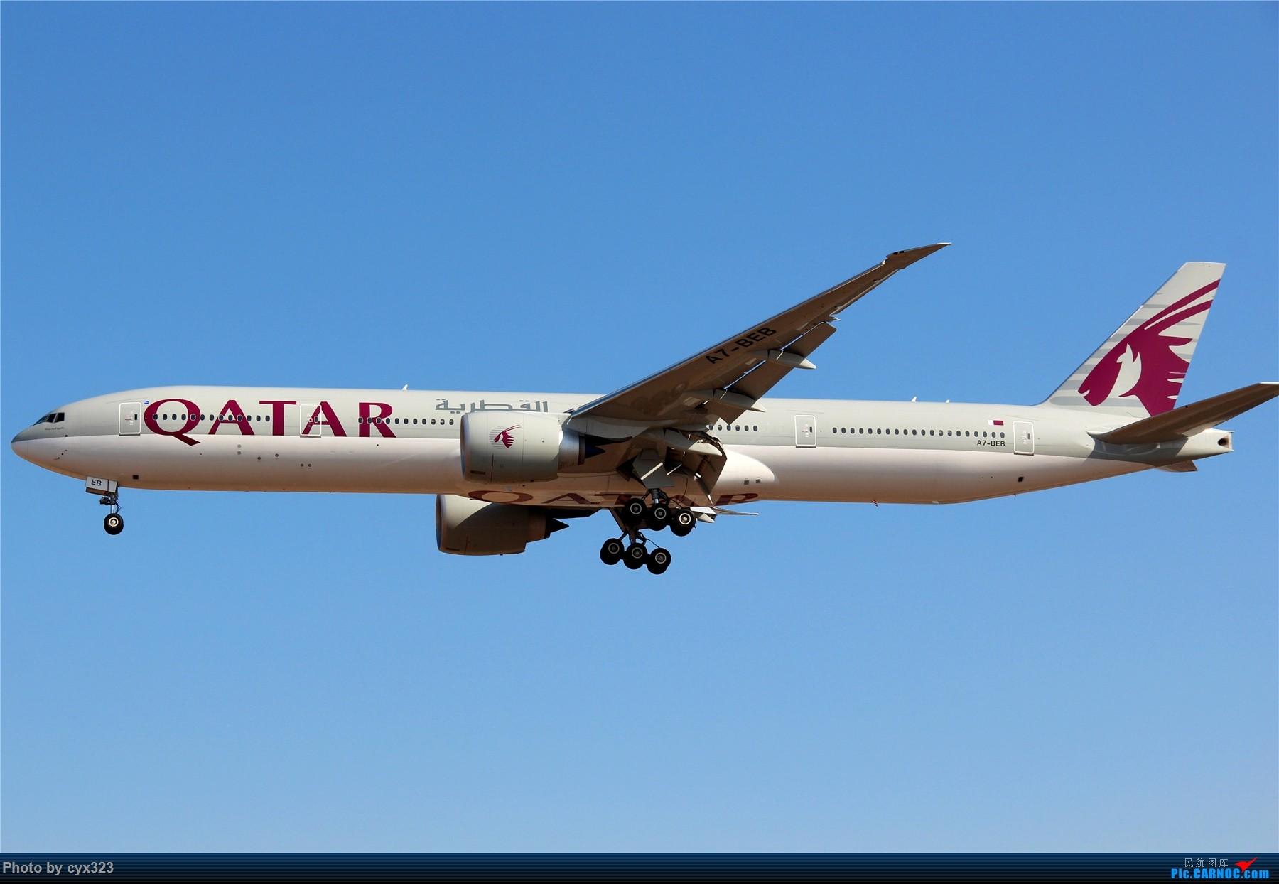 Re:[原创]纪念自己注册CARNOC十周年,PEK一些存货和新拍 BOEING 777-300ER A7-BEB 中国北京首都国际机场