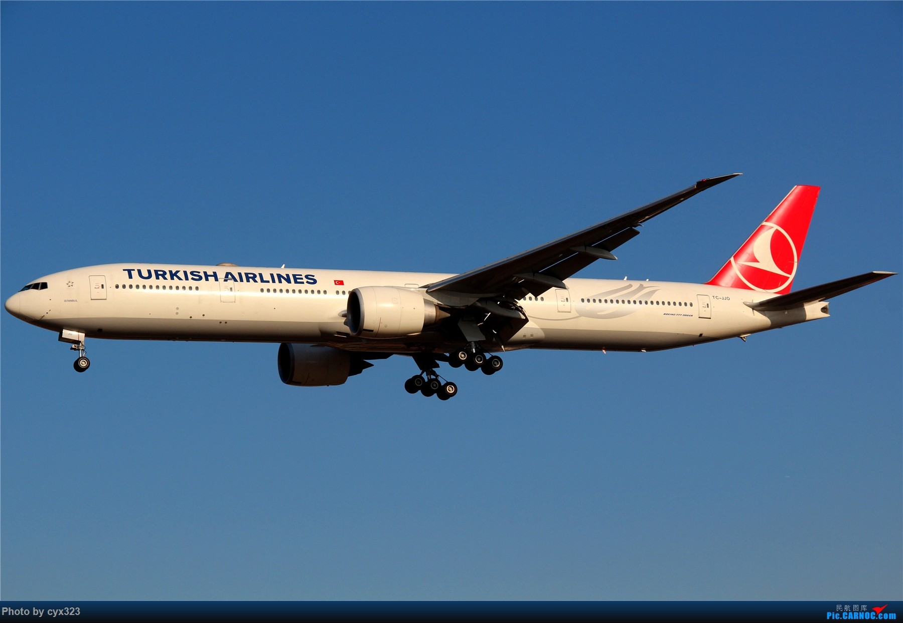 Re:[原创]纪念自己注册CARNOC十周年,PEK一些存货和新拍 BOEING 777-300ER TC-JJO 中国北京首都国际机场