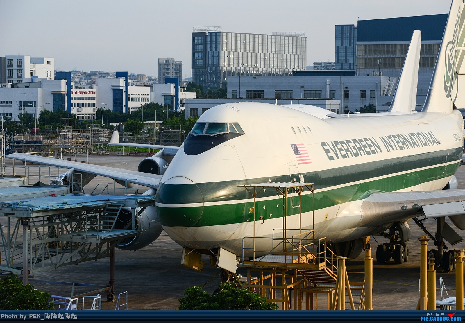 Re:【XMN】Evergreen international airlines N490EV Boeing747-200F  1800×1200